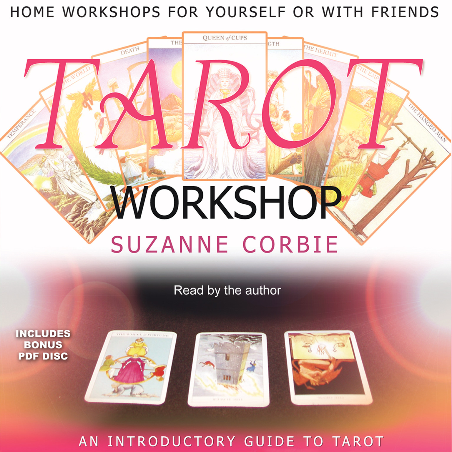 Printable Tarot Workshop Audiobook Cover Art