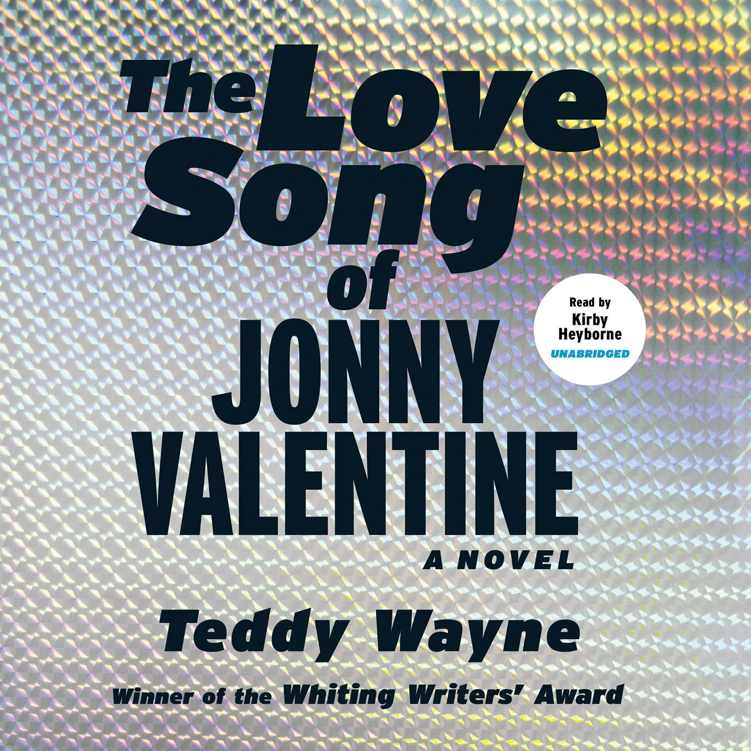 Printable The Love Song of Jonny Valentine Audiobook Cover Art