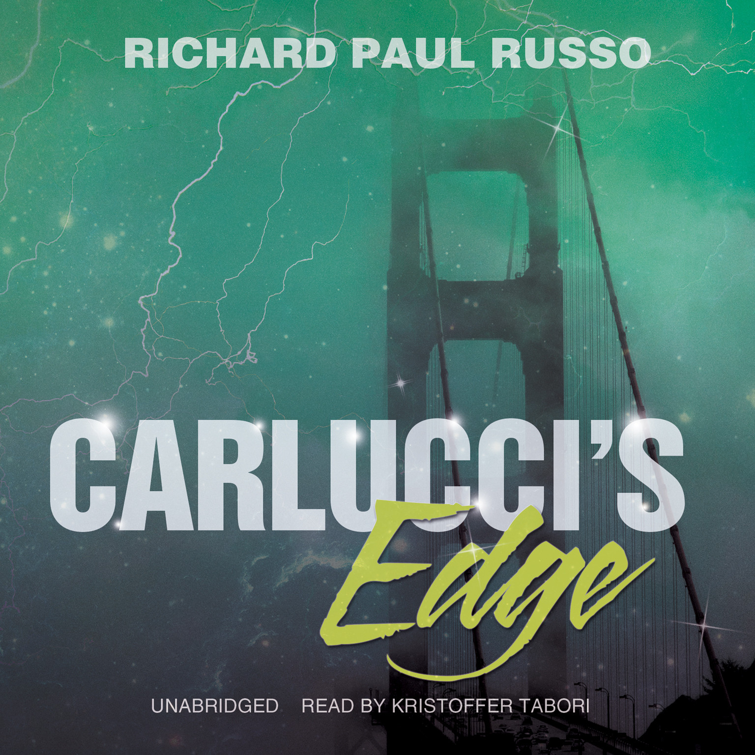 Printable Carlucci's Edge Audiobook Cover Art