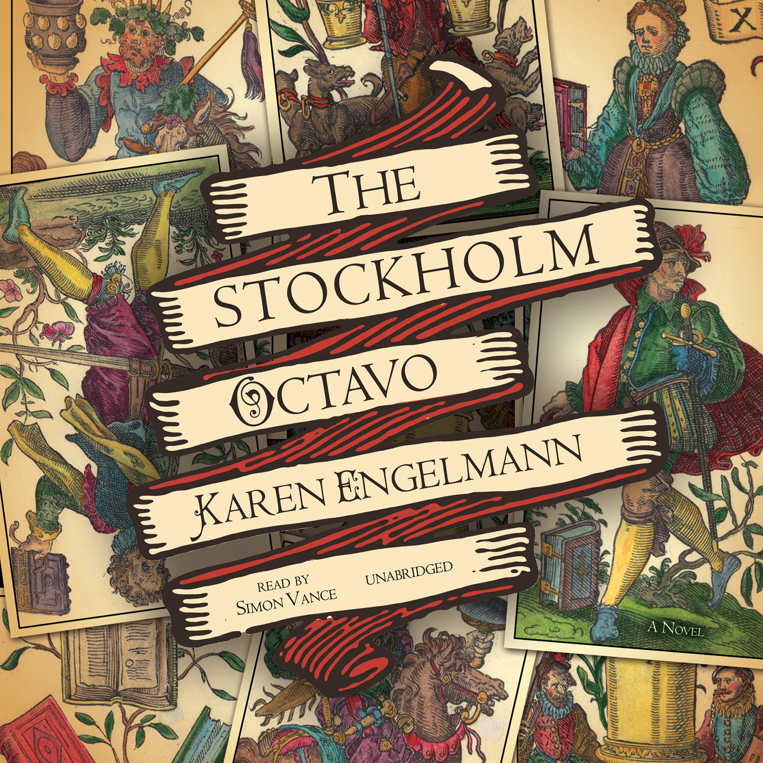 Printable The Stockholm Octavo Audiobook Cover Art