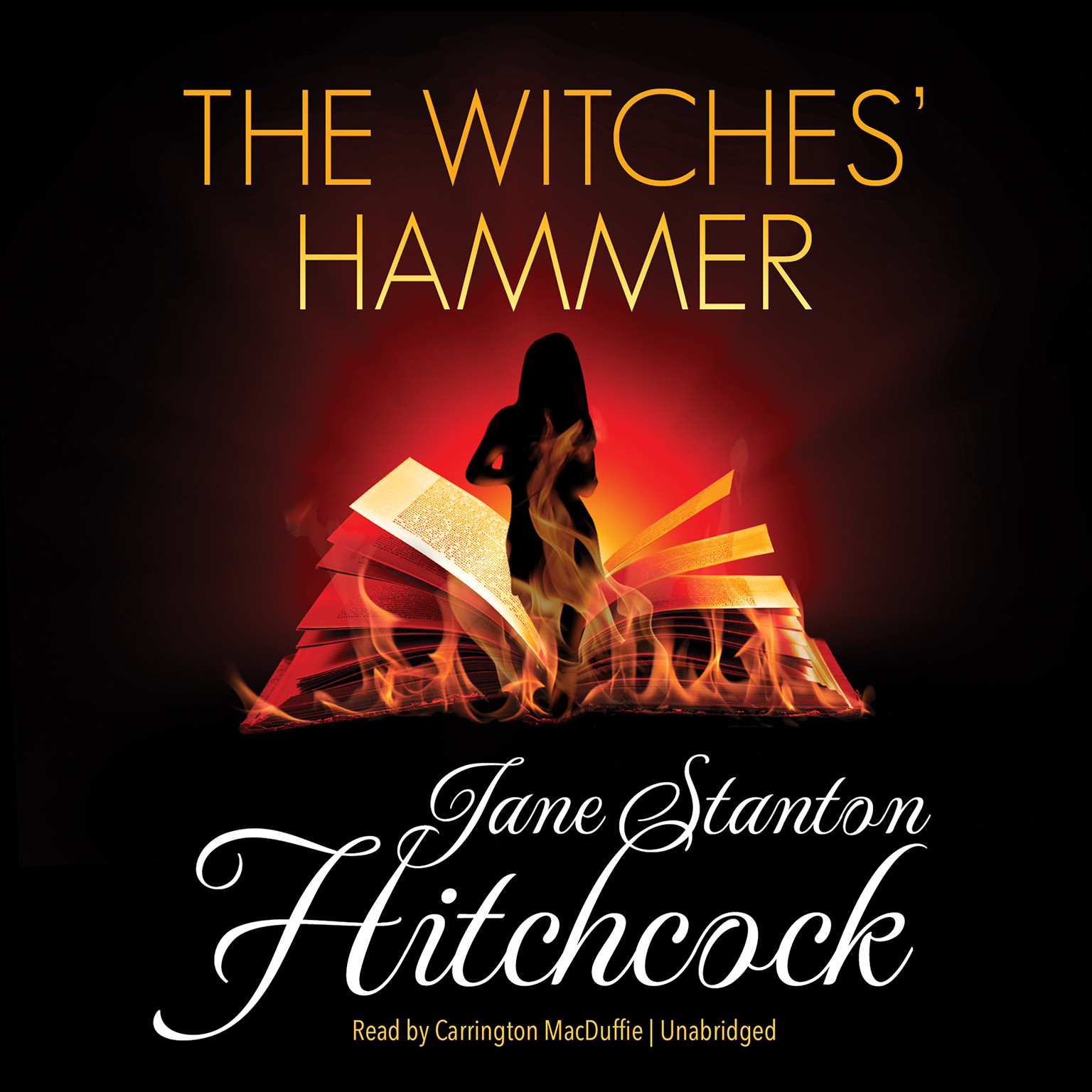 Printable The Witches' Hammer Audiobook Cover Art