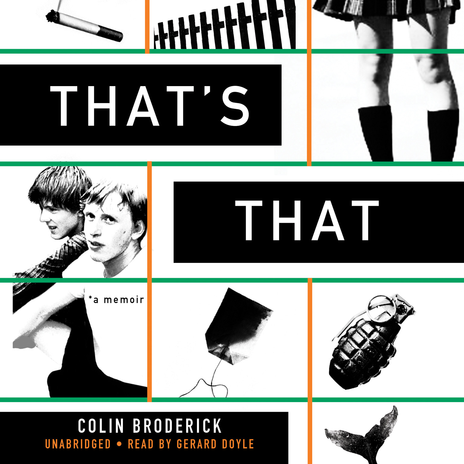 Printable That's That: A Memoir Audiobook Cover Art