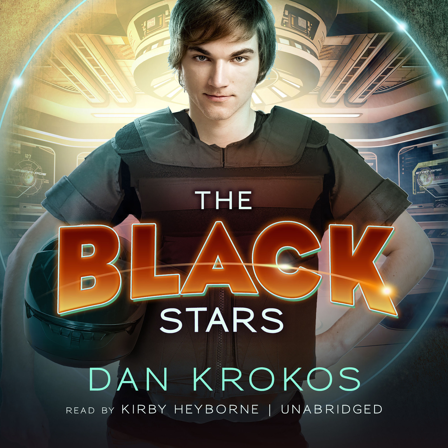 Printable The Black Stars Audiobook Cover Art