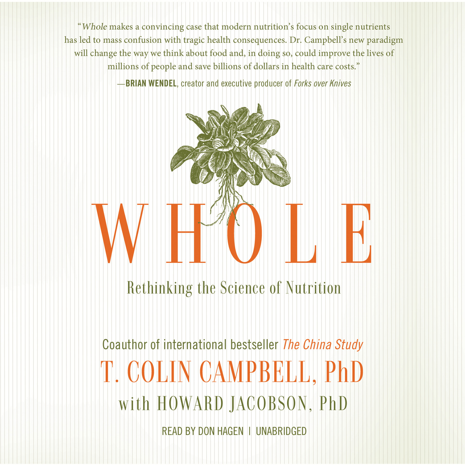 Printable Whole: Rethinking the Science of Nutrition Audiobook Cover Art