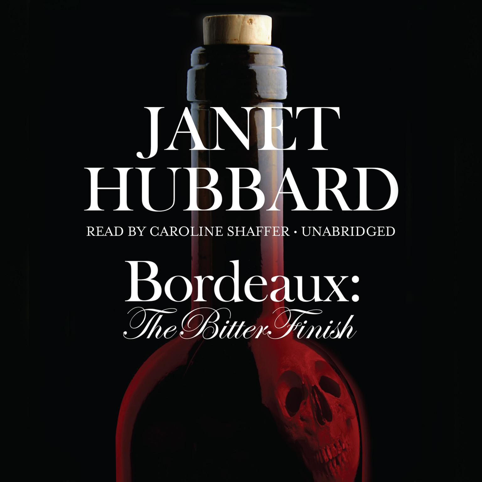 Printable Bordeaux: The Bitter Finish; A Vengeance in the Vineyard Mystery Audiobook Cover Art