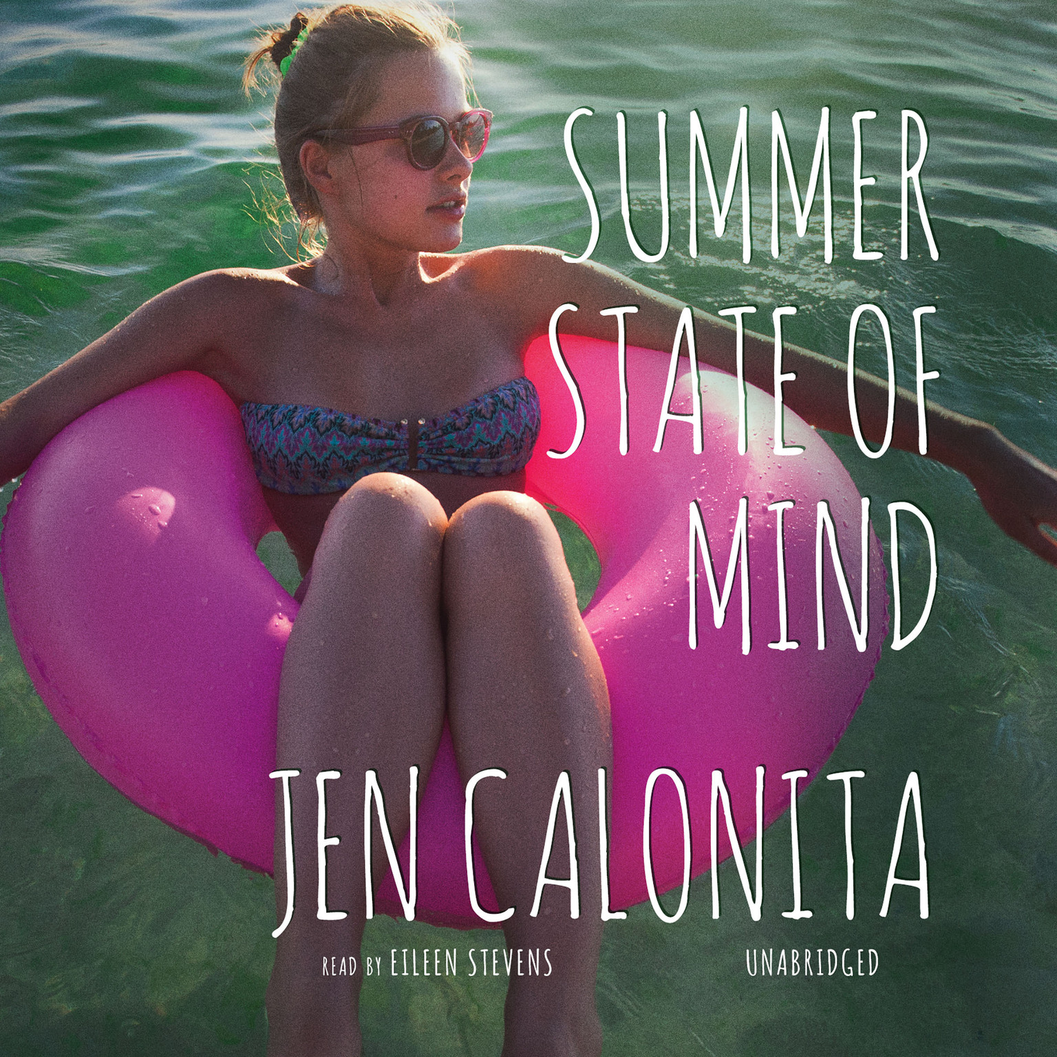 Printable Summer State of Mind Audiobook Cover Art