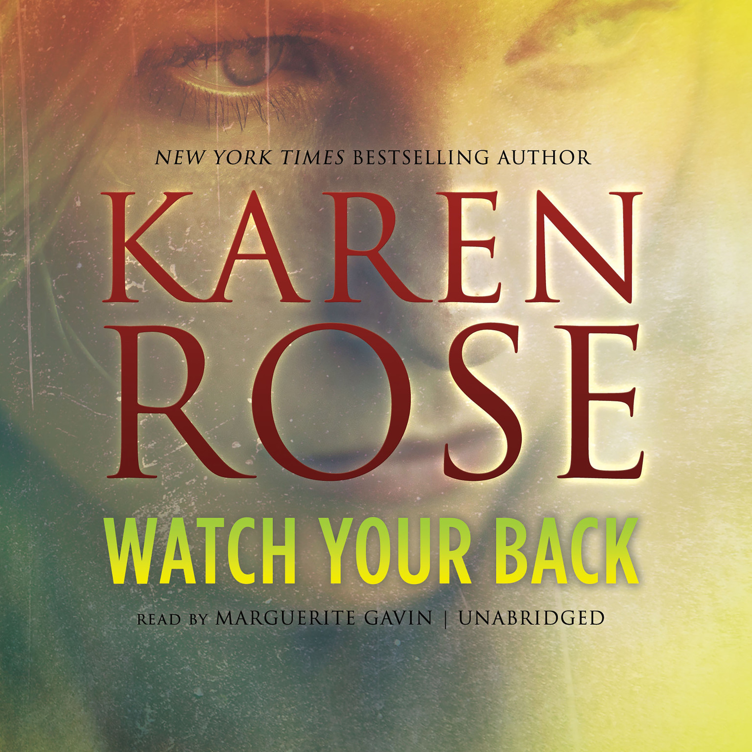 Printable Watch Your Back Audiobook Cover Art