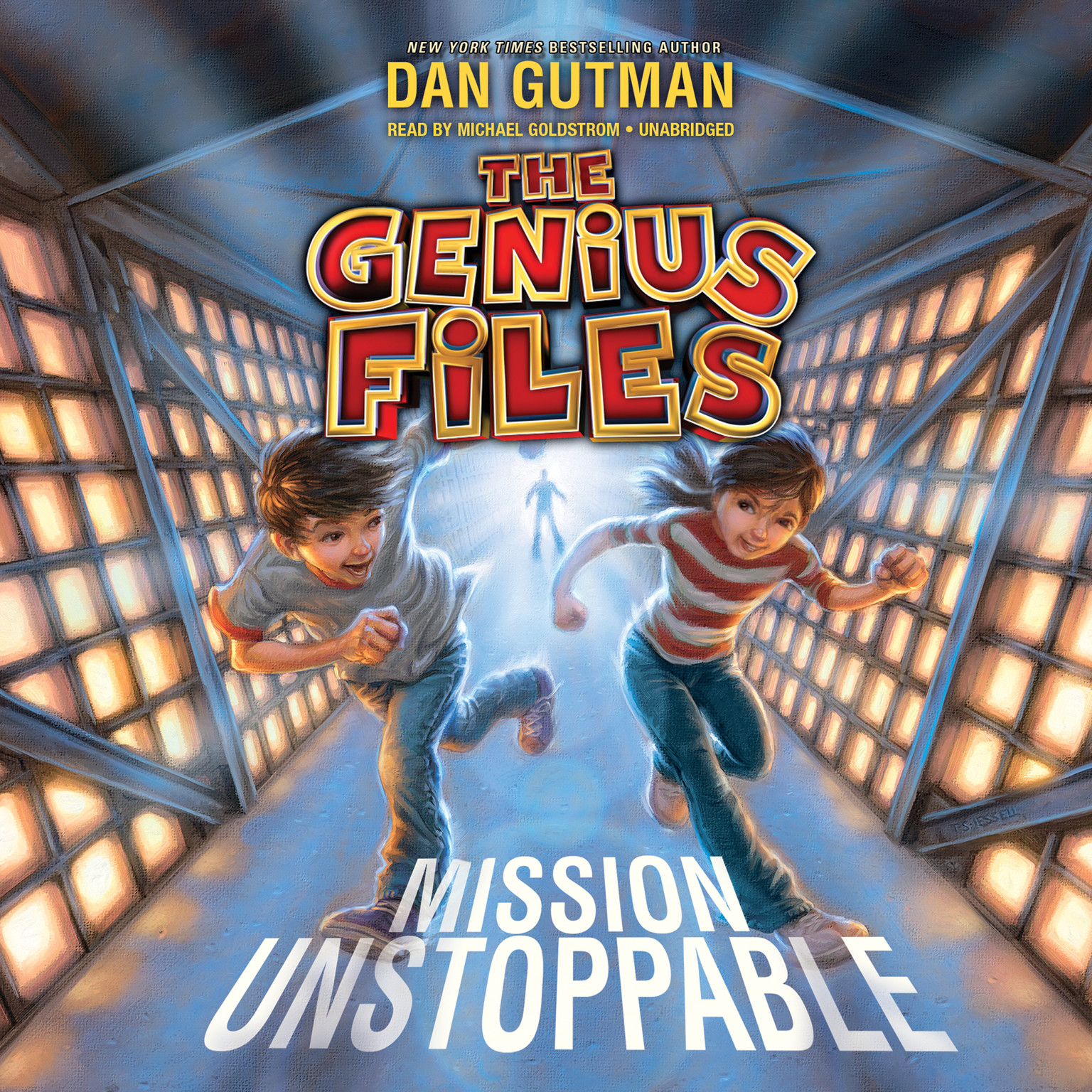 Printable Mission Unstoppable Audiobook Cover Art