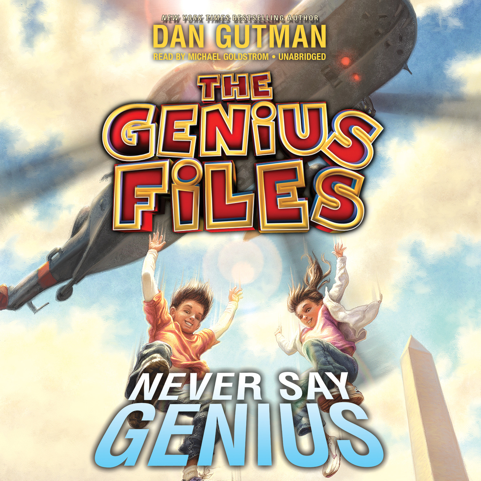Printable Never Say Genius Audiobook Cover Art