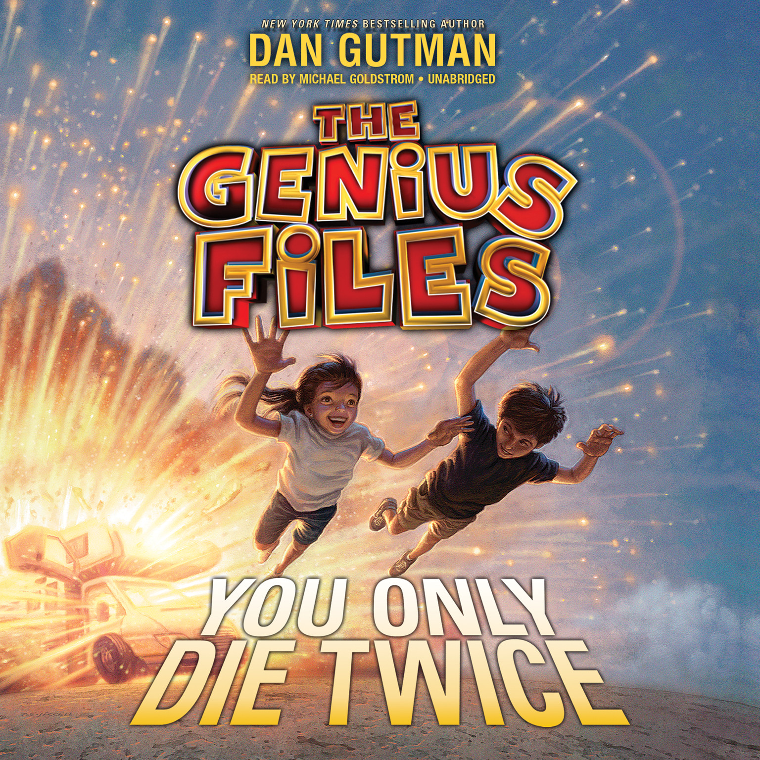 Printable You Only Die Twice Audiobook Cover Art