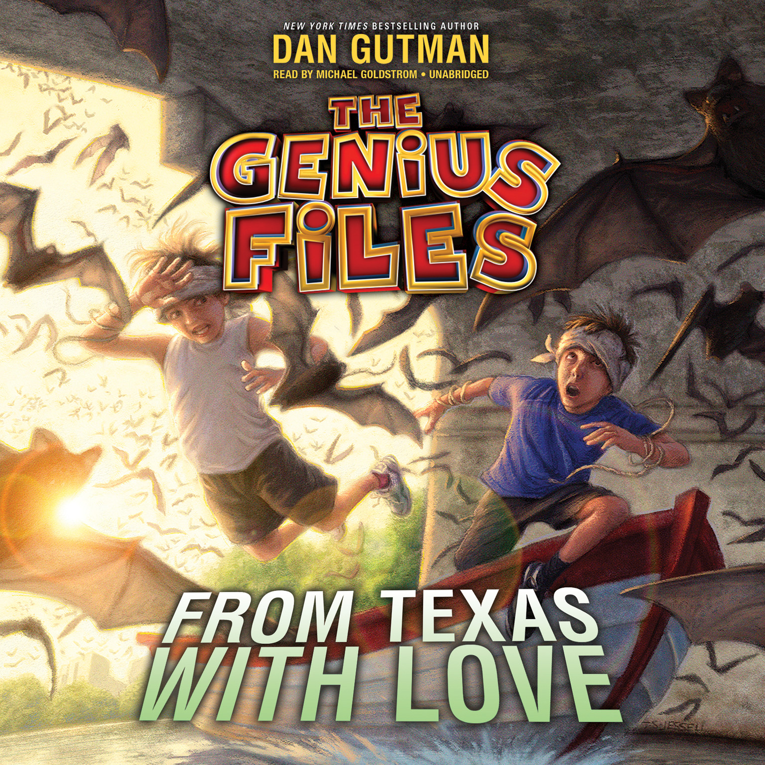Printable From Texas with Love Audiobook Cover Art