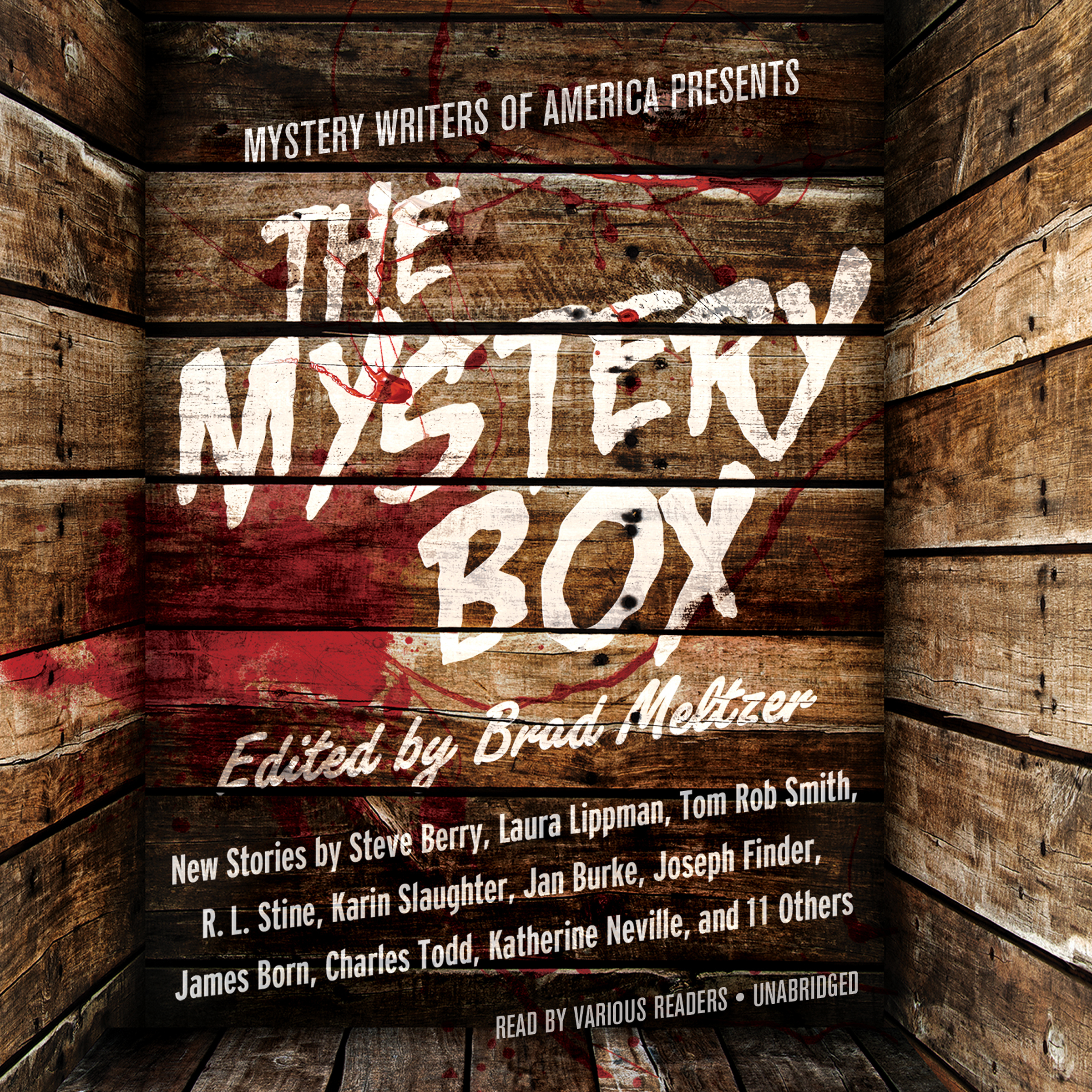 Printable Mystery Writers of America Presents The Mystery Box Audiobook Cover Art