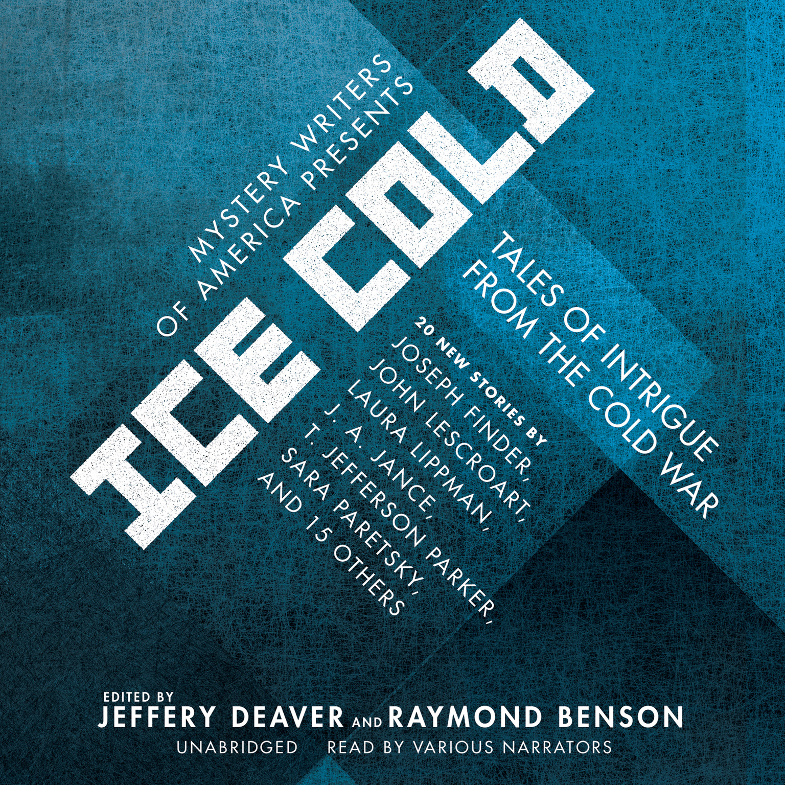 Printable Mystery Writers of America Presents Ice Cold: Tales of Intrigue from the Cold War Audiobook Cover Art
