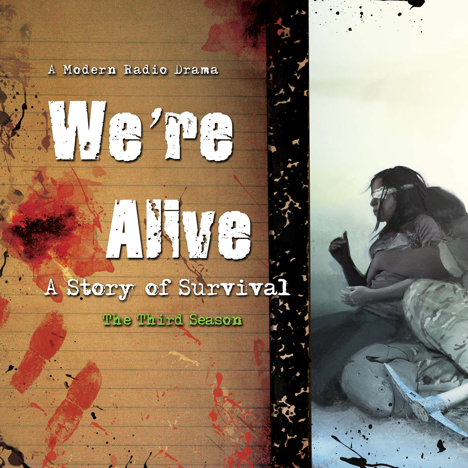 Printable We're Alive: A Story of Survival, the Third Season Audiobook Cover Art