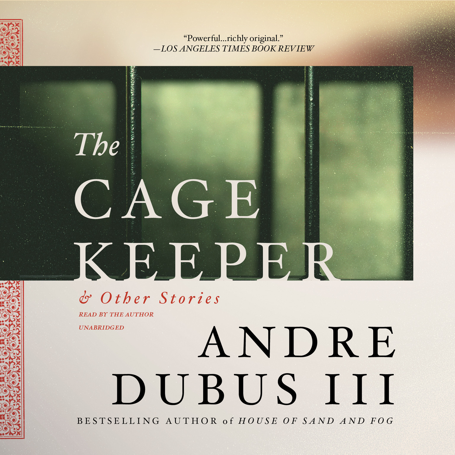 Printable The Cage Keeper, and Other Stories Audiobook Cover Art