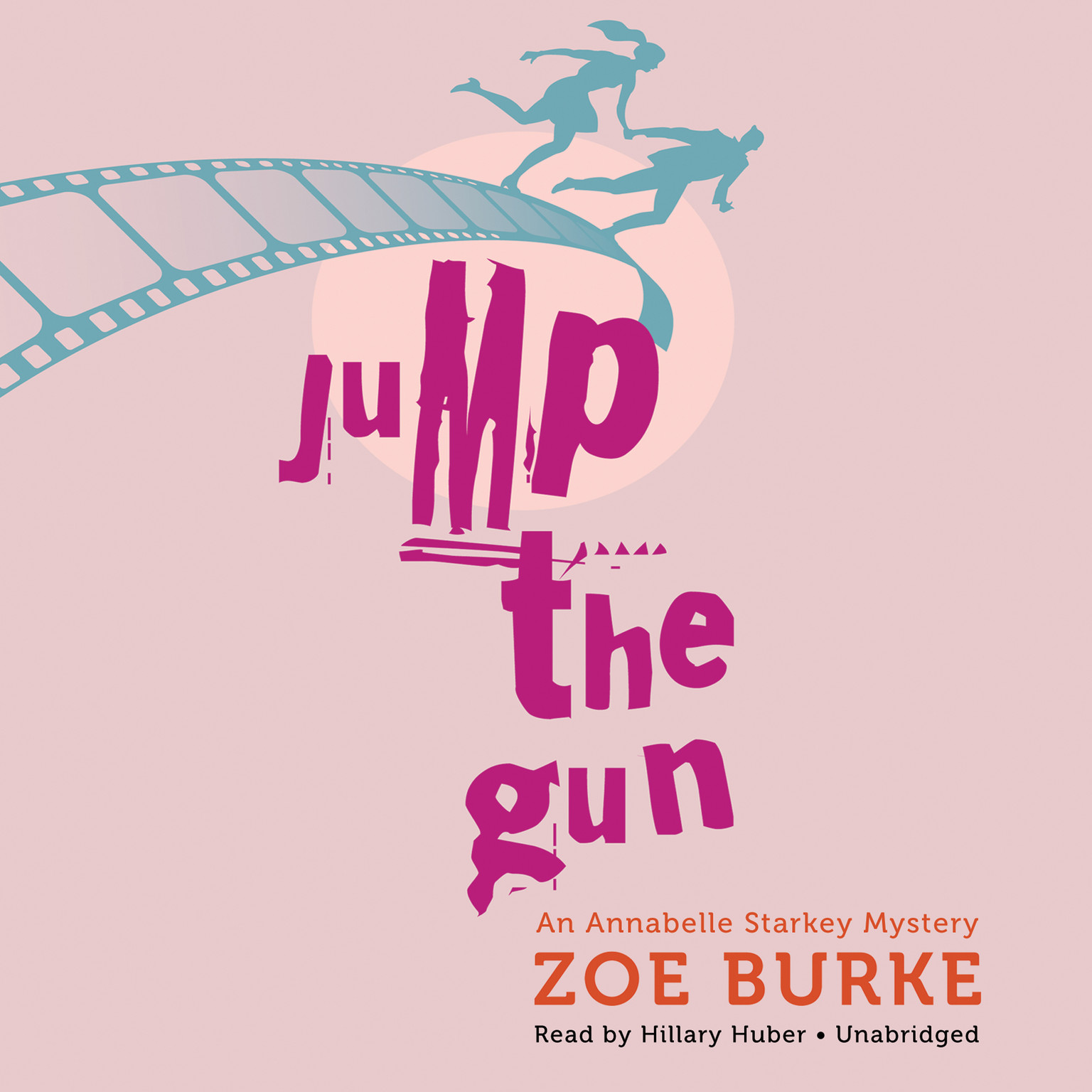 Printable Jump the Gun: An Annabelle Starkey Mystery Audiobook Cover Art