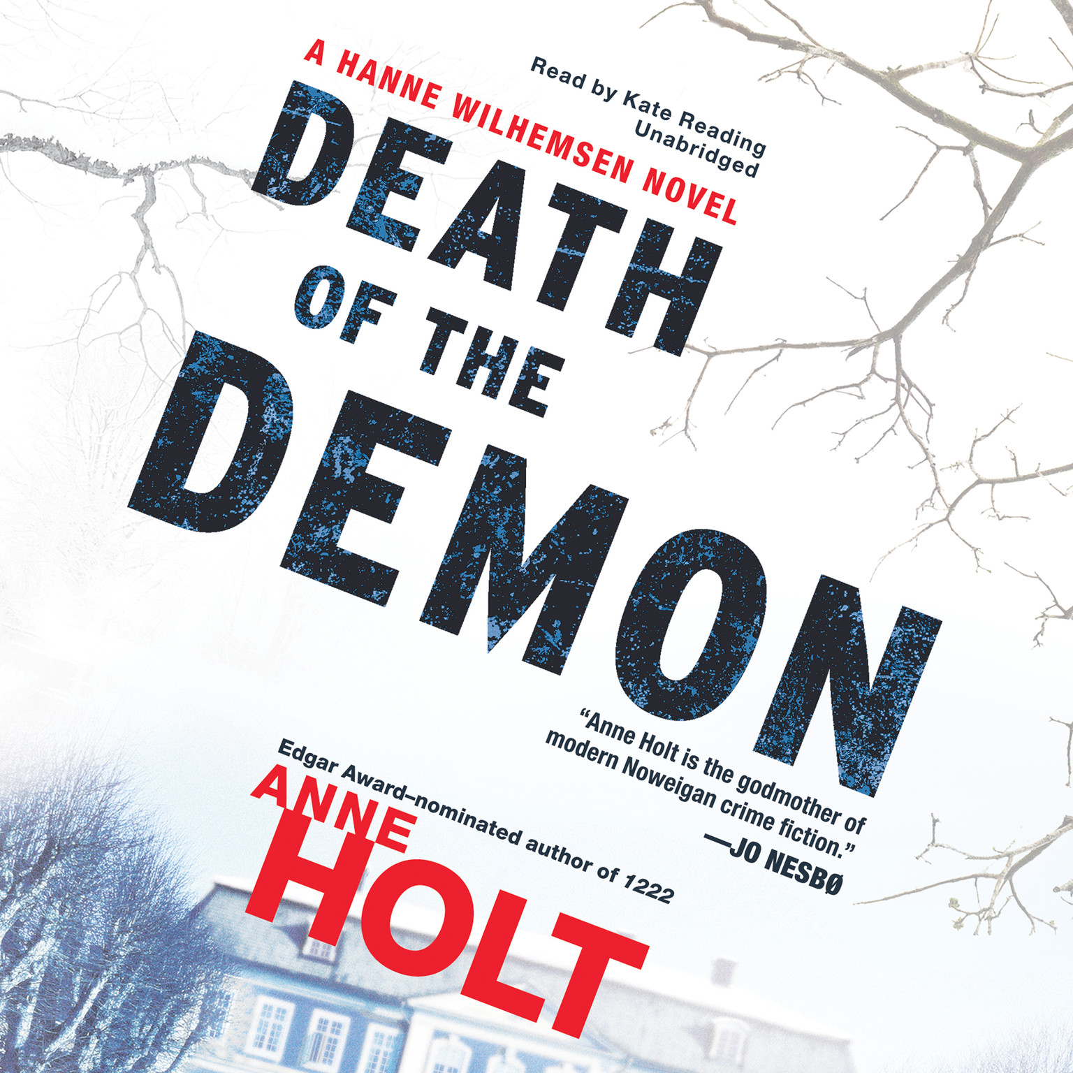 Printable Death of the Demon: A Hanne Wilhelmsen Novel Audiobook Cover Art