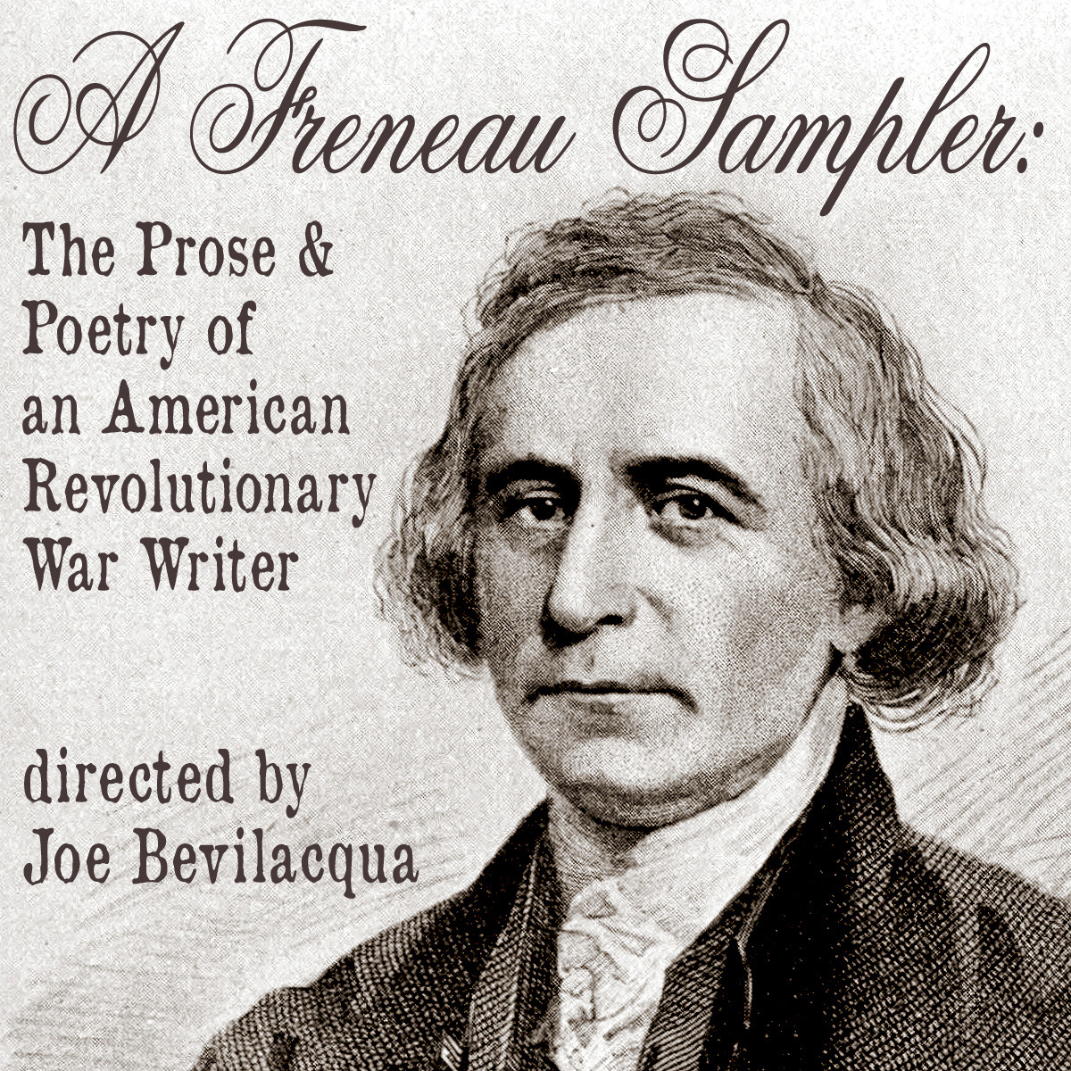Printable A Freneau Sampler: The Prose and Poetry of Revolutionary War Writer Philip Freneau Audiobook Cover Art