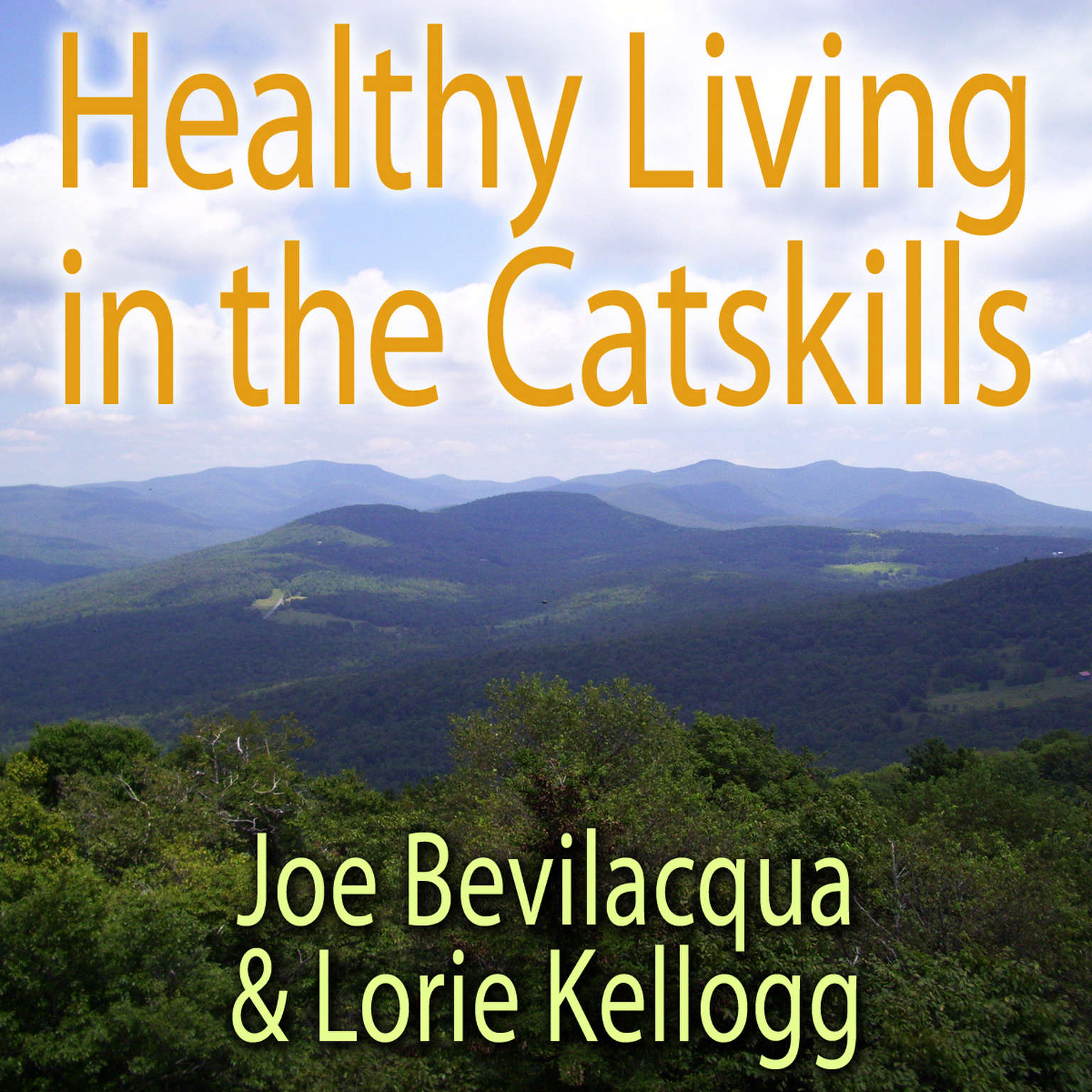 Printable Healthy Living in the Catskills: A Joe & Lorie Special Audiobook Cover Art