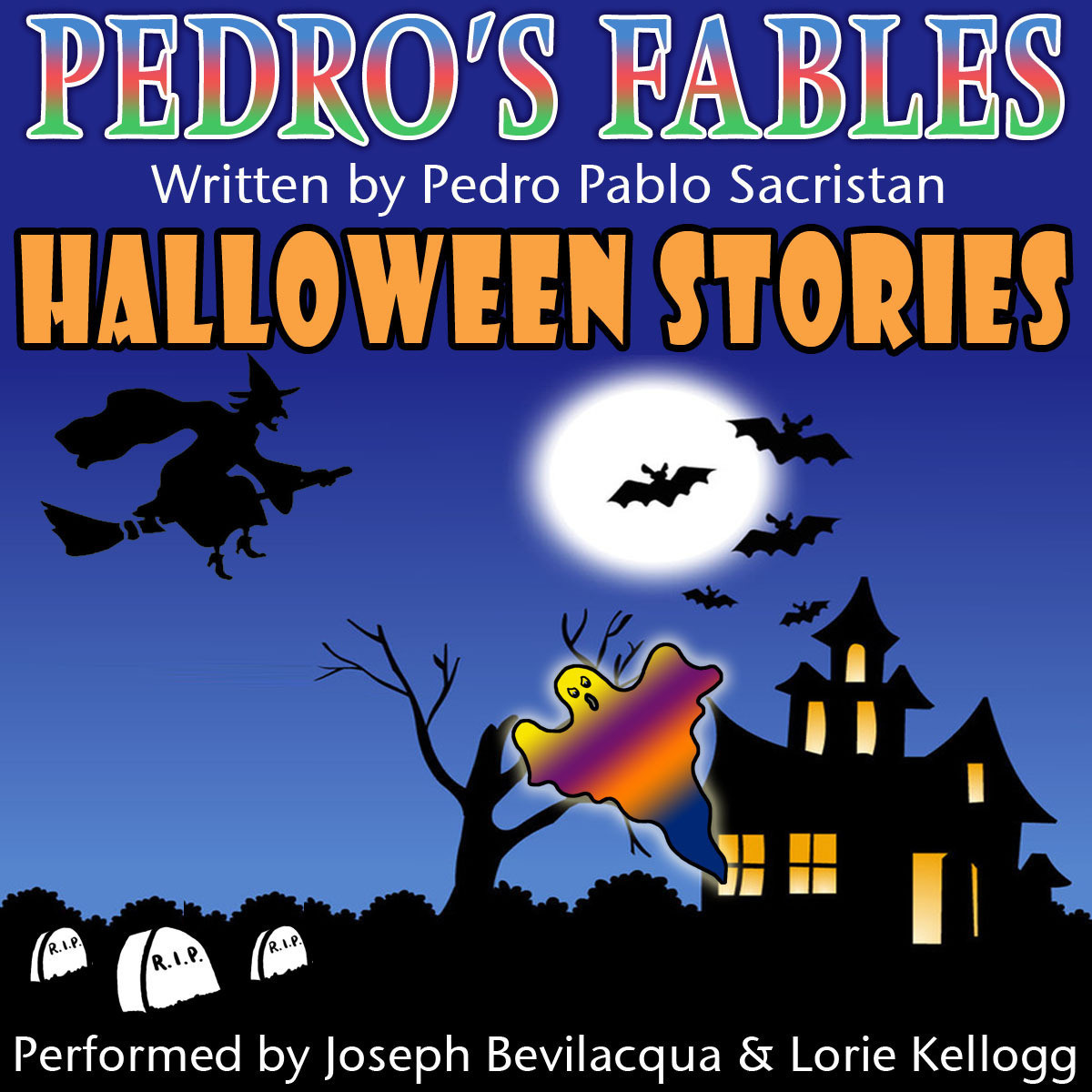 Printable Pedro's Halloween Fables: Halloween Stories for Children Audiobook Cover Art