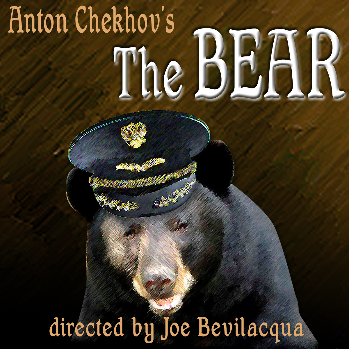 Printable The Bear: A Classic One-Act Play Audiobook Cover Art