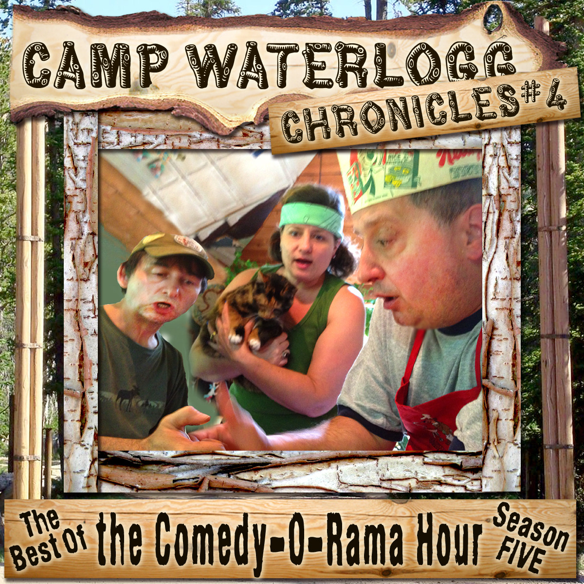 Printable The Camp Waterlogg Chronicles 4: The Best of the Comedy-O-Rama Hour Season 5 Audiobook Cover Art