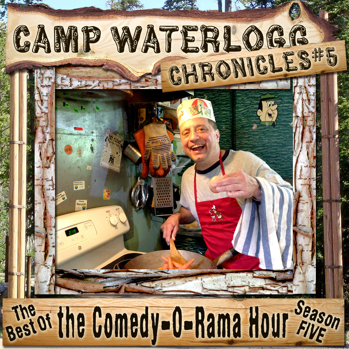 Printable The Camp Waterlogg Chronicles 5: The Best of the Comedy-O-Rama Hour Season 5 Audiobook Cover Art