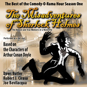 The Misadventures of Sherlock Holmes: The Honest and True Memoirs of a Nonentity, by Joe Bevilacqua, Charles Dawson Butler, Robert J. Cirasa