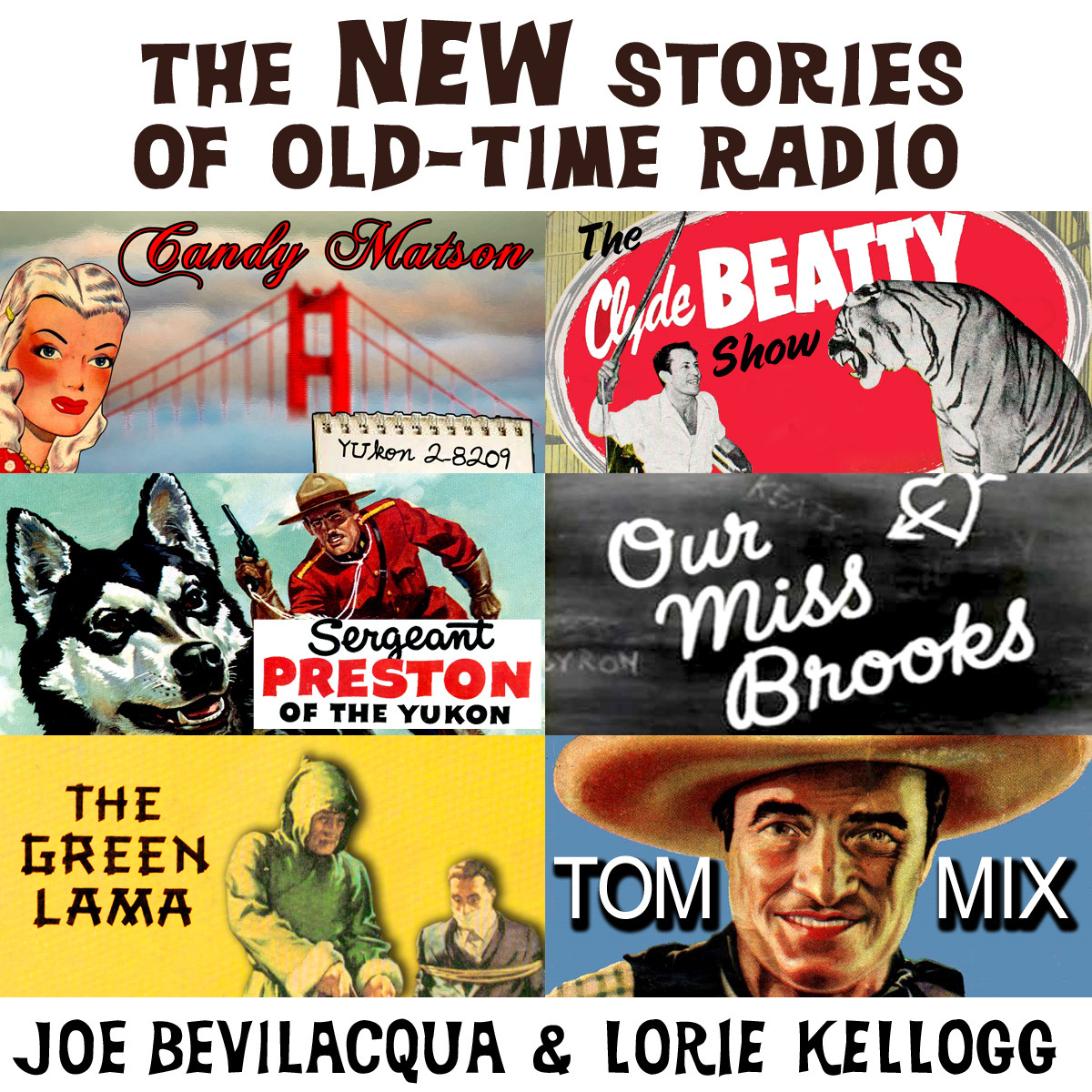 Printable The New Stories of Old-Time Radio: Volume One, Set One Audiobook Cover Art