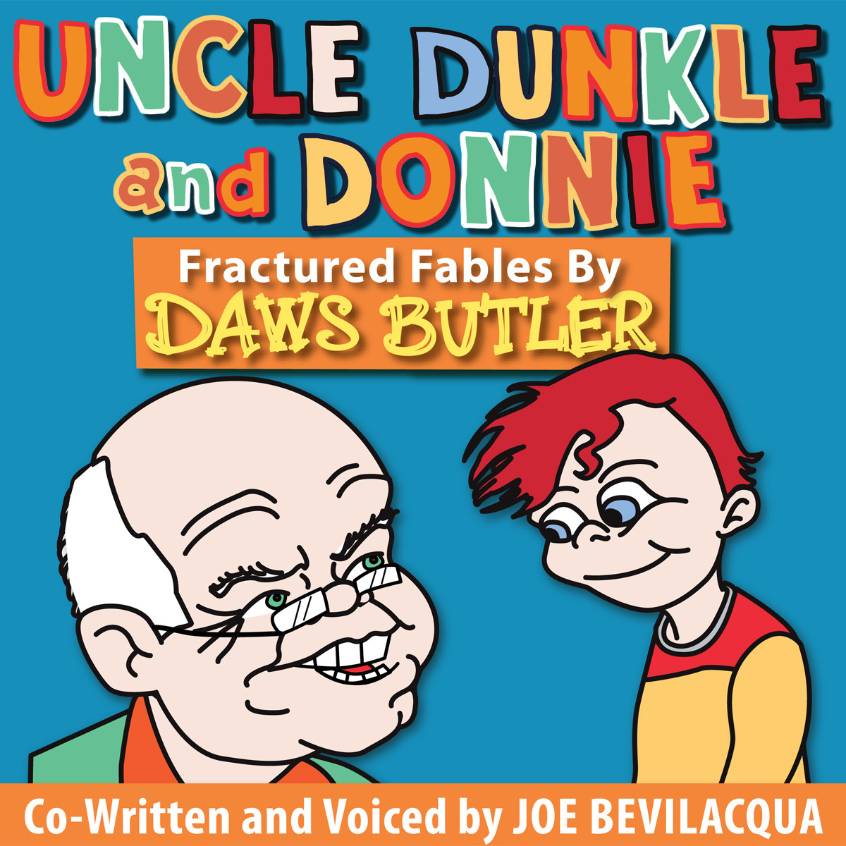 Printable Uncle Dunkle and Donnie: Fractured Fables by Daws Butler Audiobook Cover Art