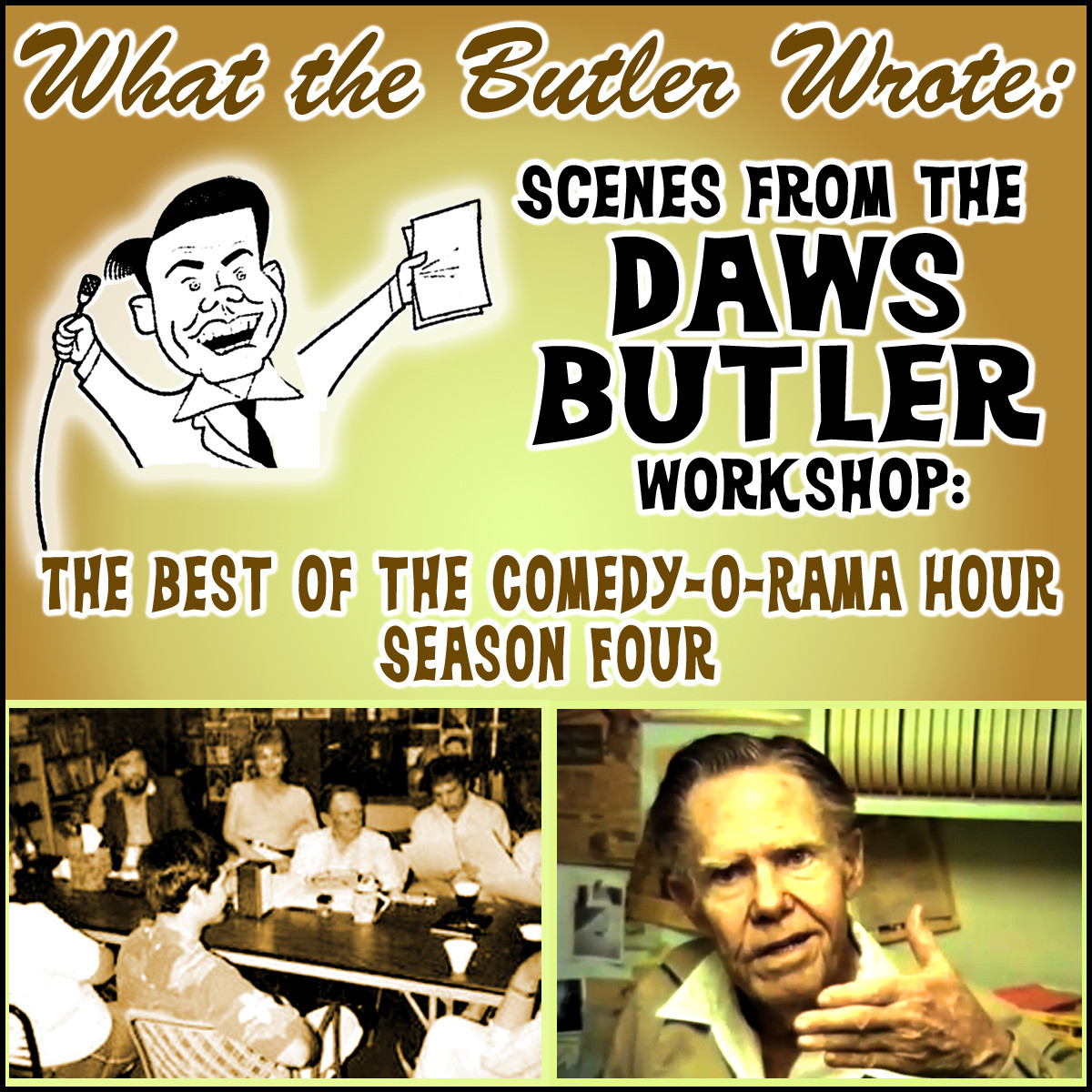 Printable What the Butler Wrote: Scenes from the Daws Butler Workshop Audiobook Cover Art