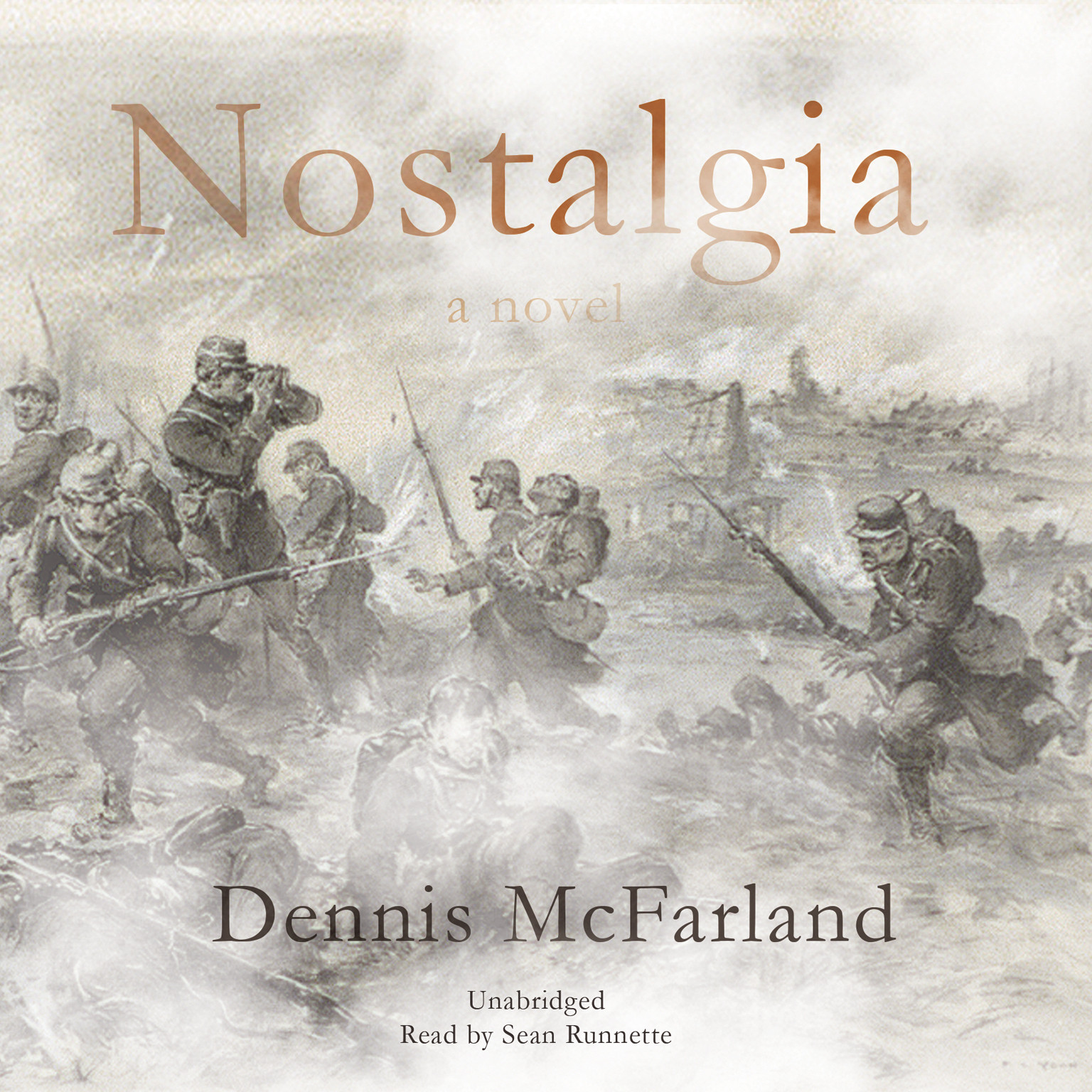 Printable Nostalgia Audiobook Cover Art