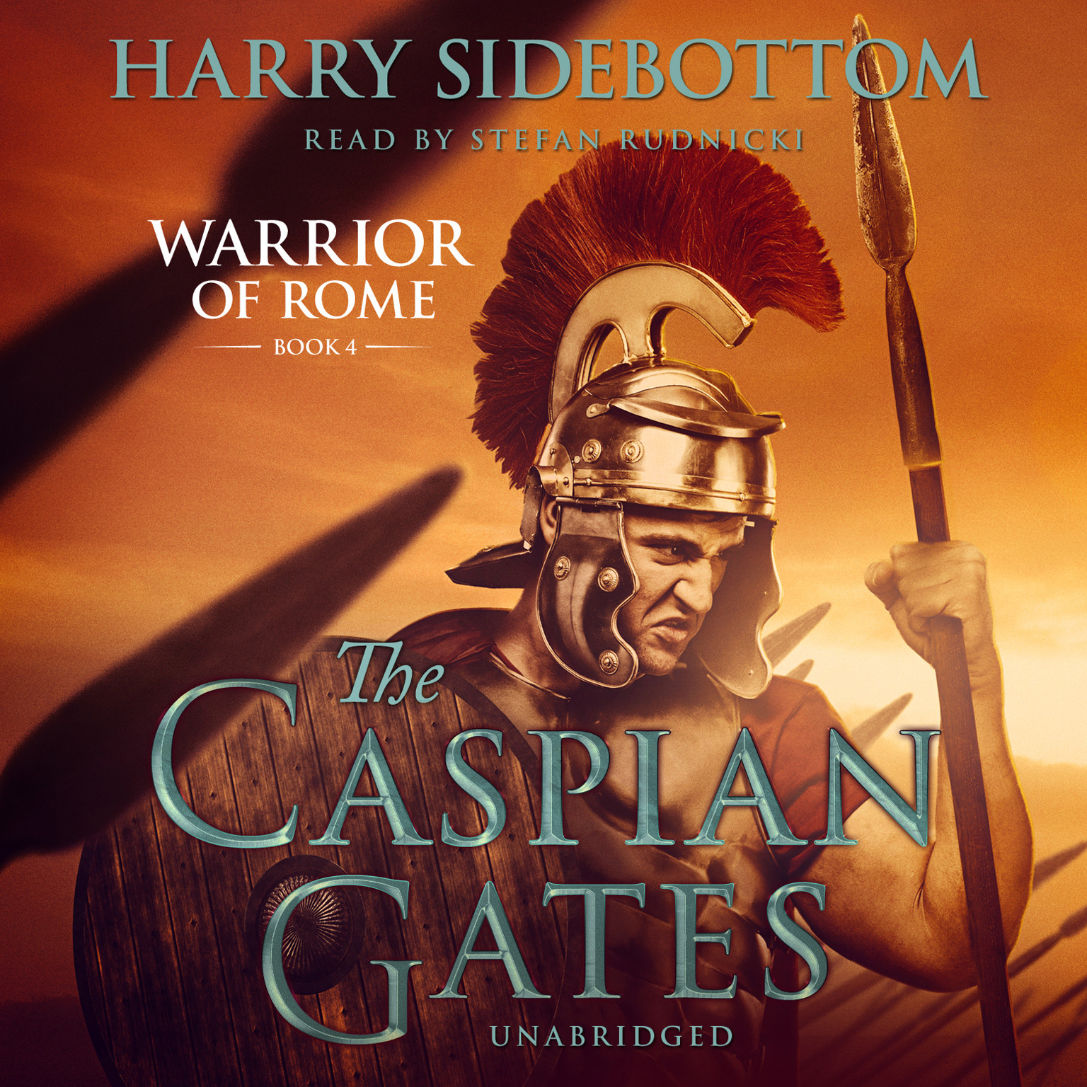 Printable The Caspian Gates Audiobook Cover Art