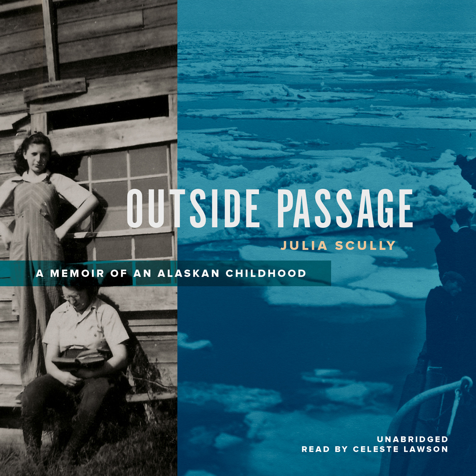 Printable Outside Passage: A Memoir of an Alaskan Childhood Audiobook Cover Art