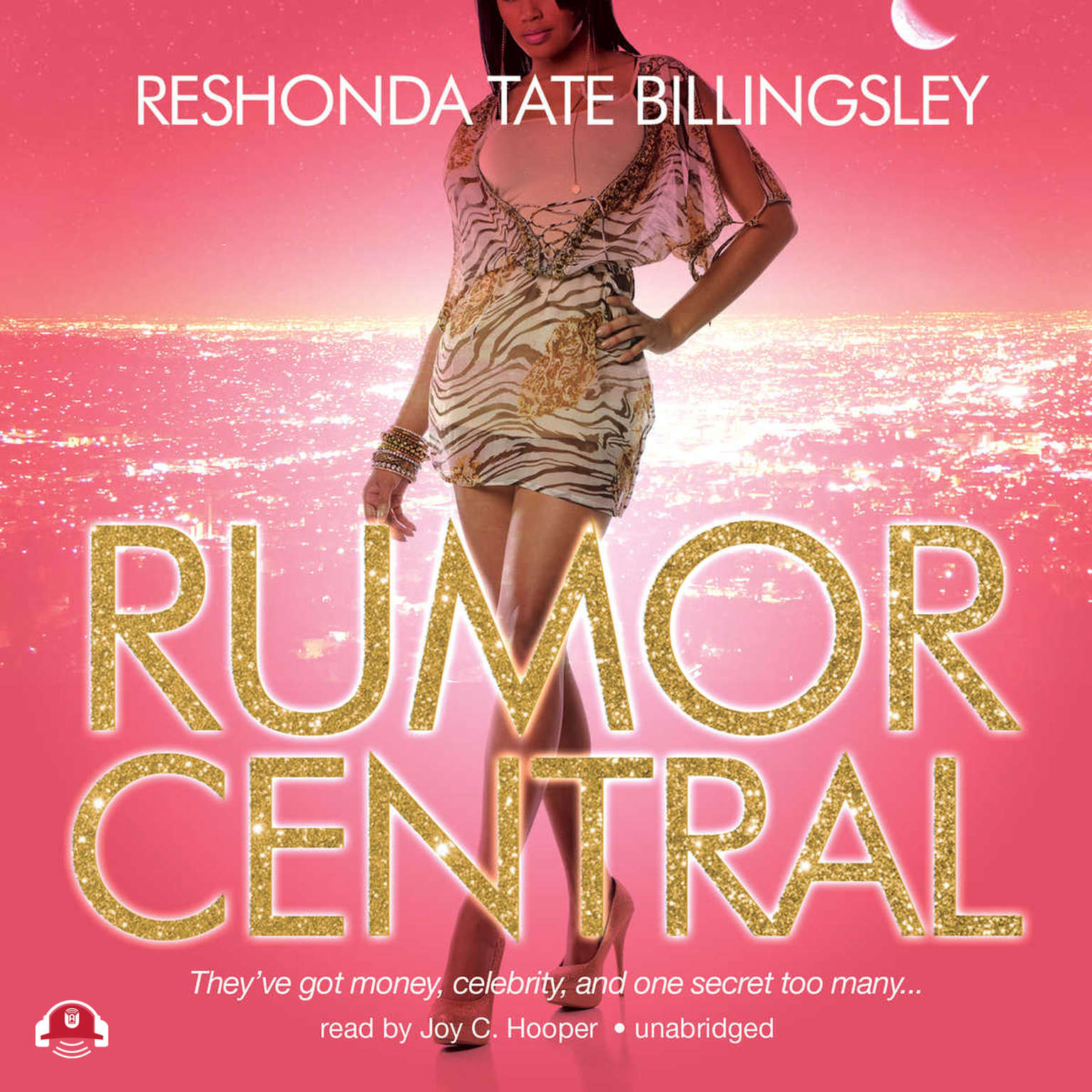 Printable Rumor Central Audiobook Cover Art