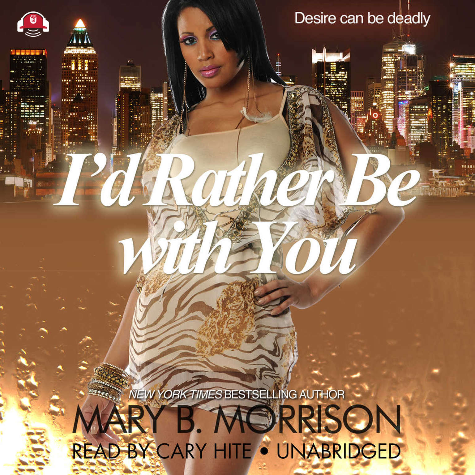 Printable I'd Rather Be with You Audiobook Cover Art