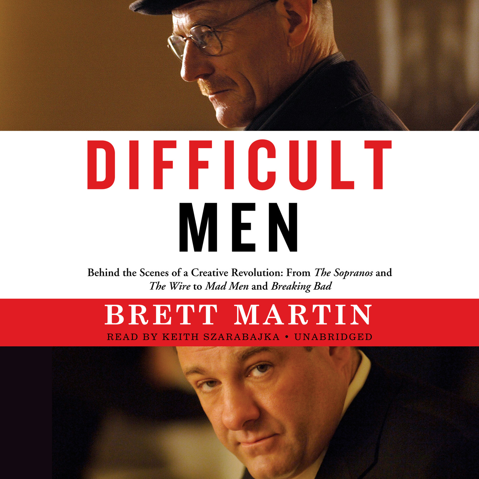 Printable Difficult Men: Behind the Scenes of a Creative Revolution: From The Sopranos and The Wire to Mad Men and Breaking Bad Audiobook Cover Art