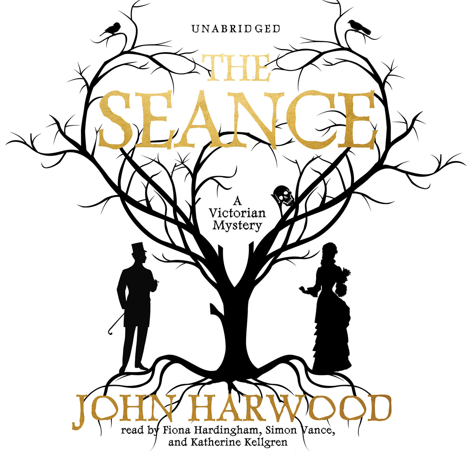 Printable The Séance Audiobook Cover Art