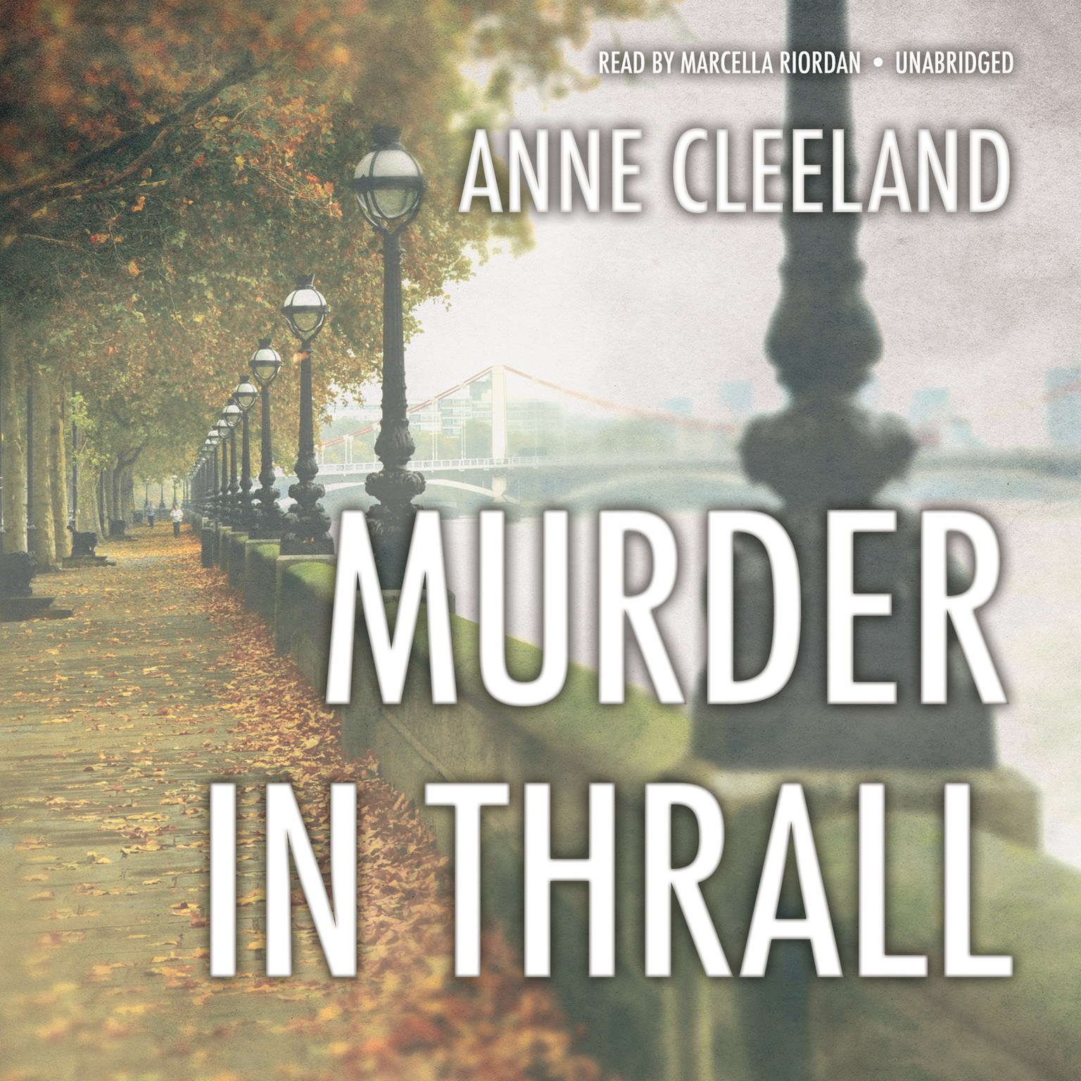 Printable Murder in Thrall Audiobook Cover Art