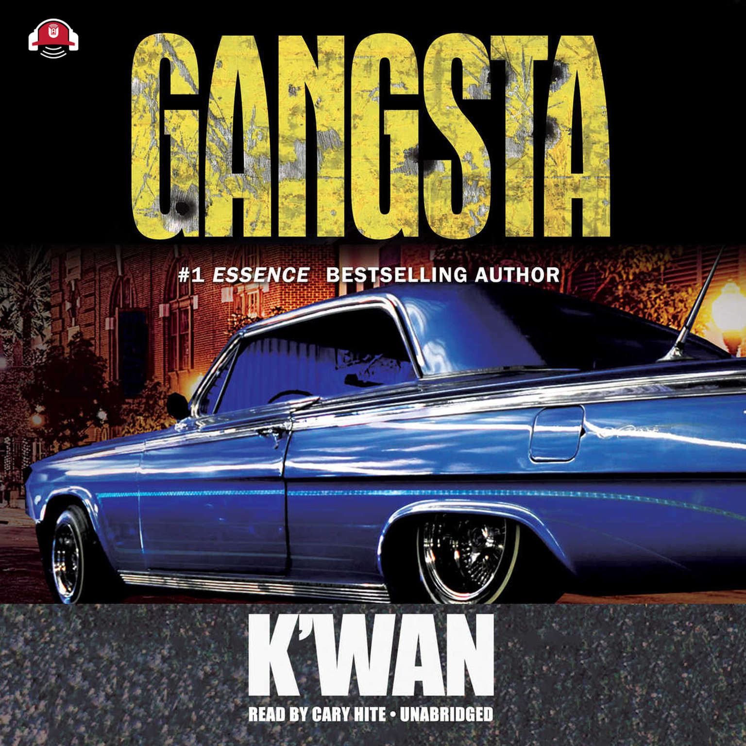Printable Gangsta Audiobook Cover Art