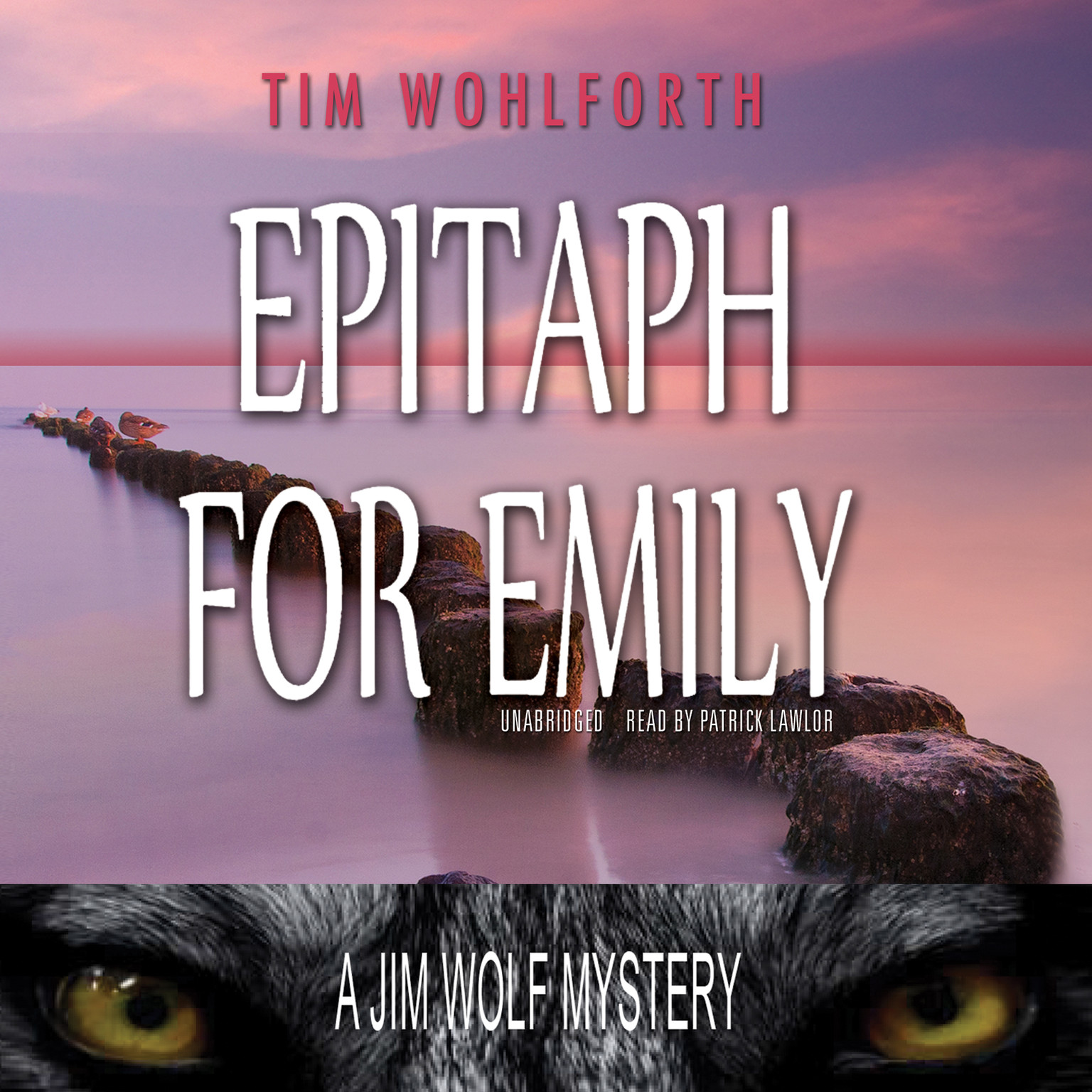 Printable Epitaph for Emily: A Jim Wolf Mystery Audiobook Cover Art