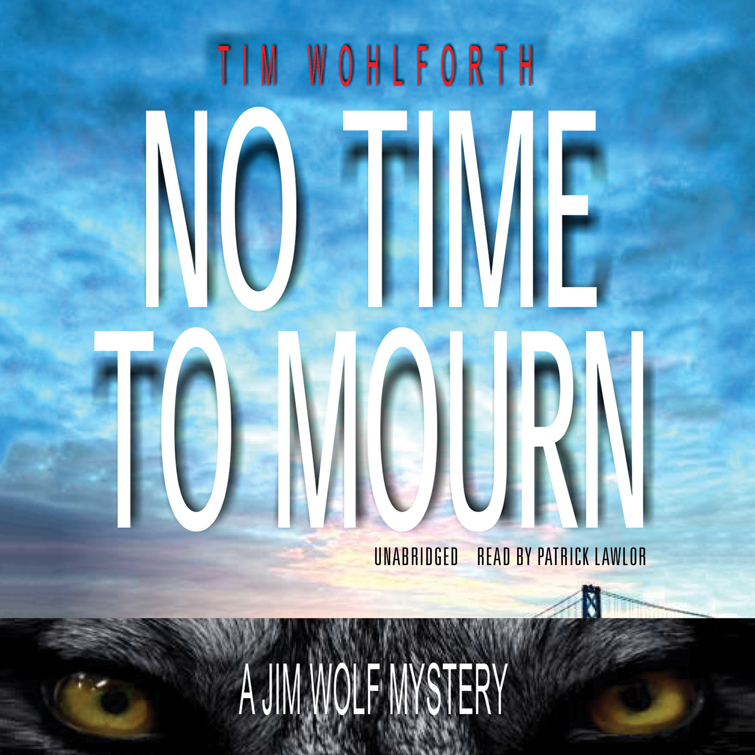 Printable No Time to Mourn Audiobook Cover Art