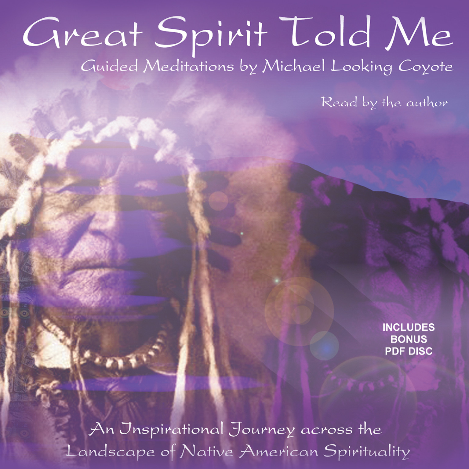 Printable Great Spirit Told Me Audiobook Cover Art