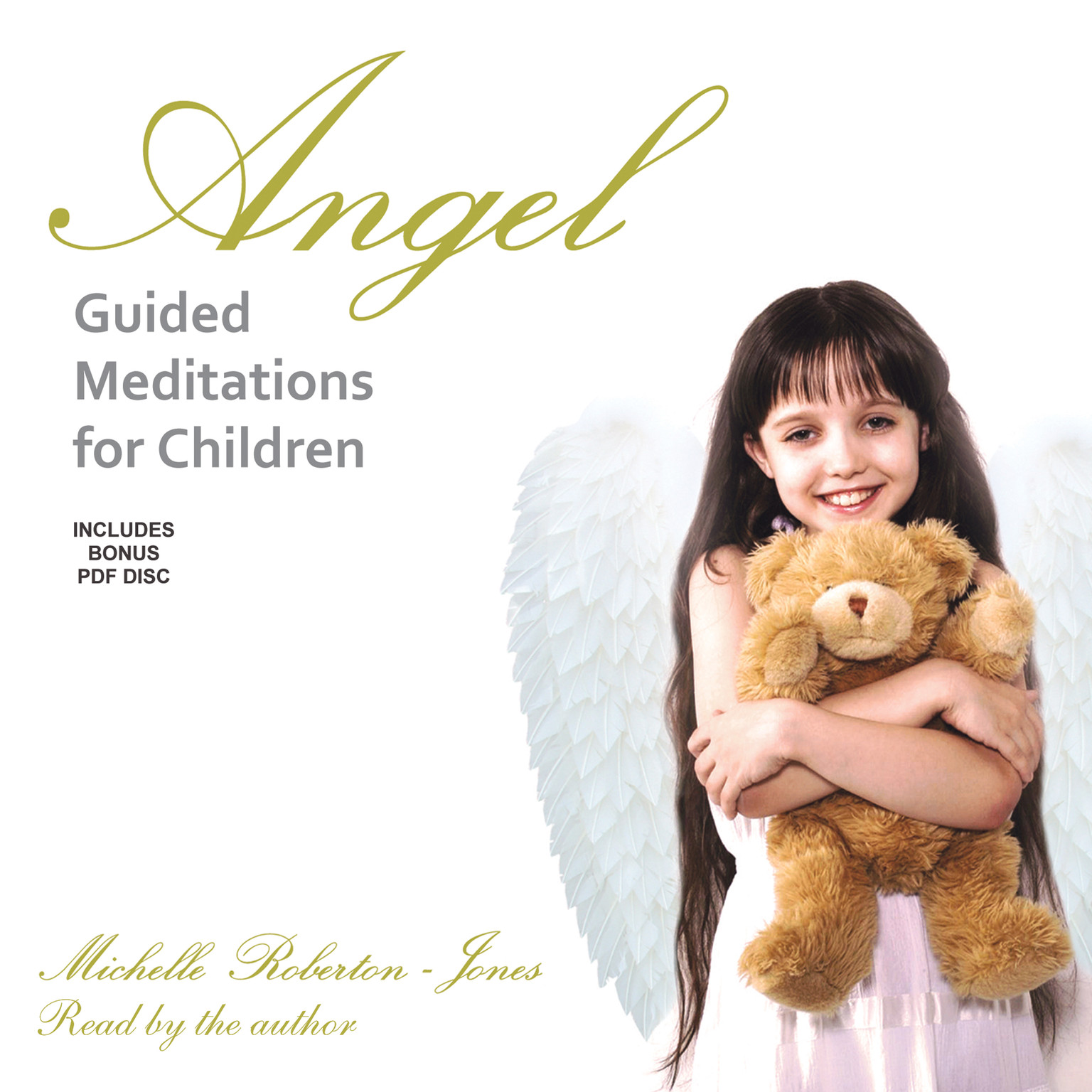Printable Angel Guided Meditations for Children Audiobook Cover Art