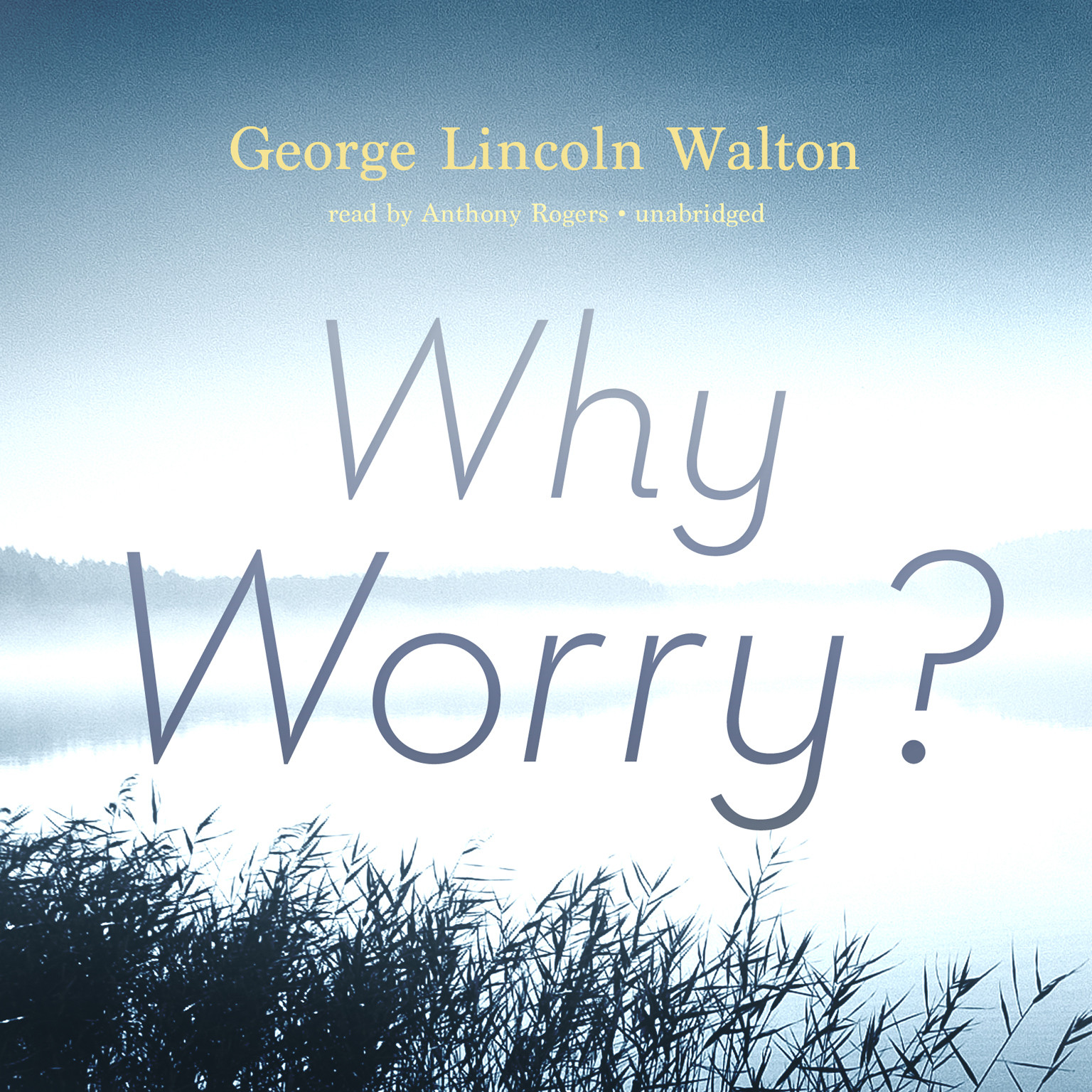 Printable Why Worry? Audiobook Cover Art