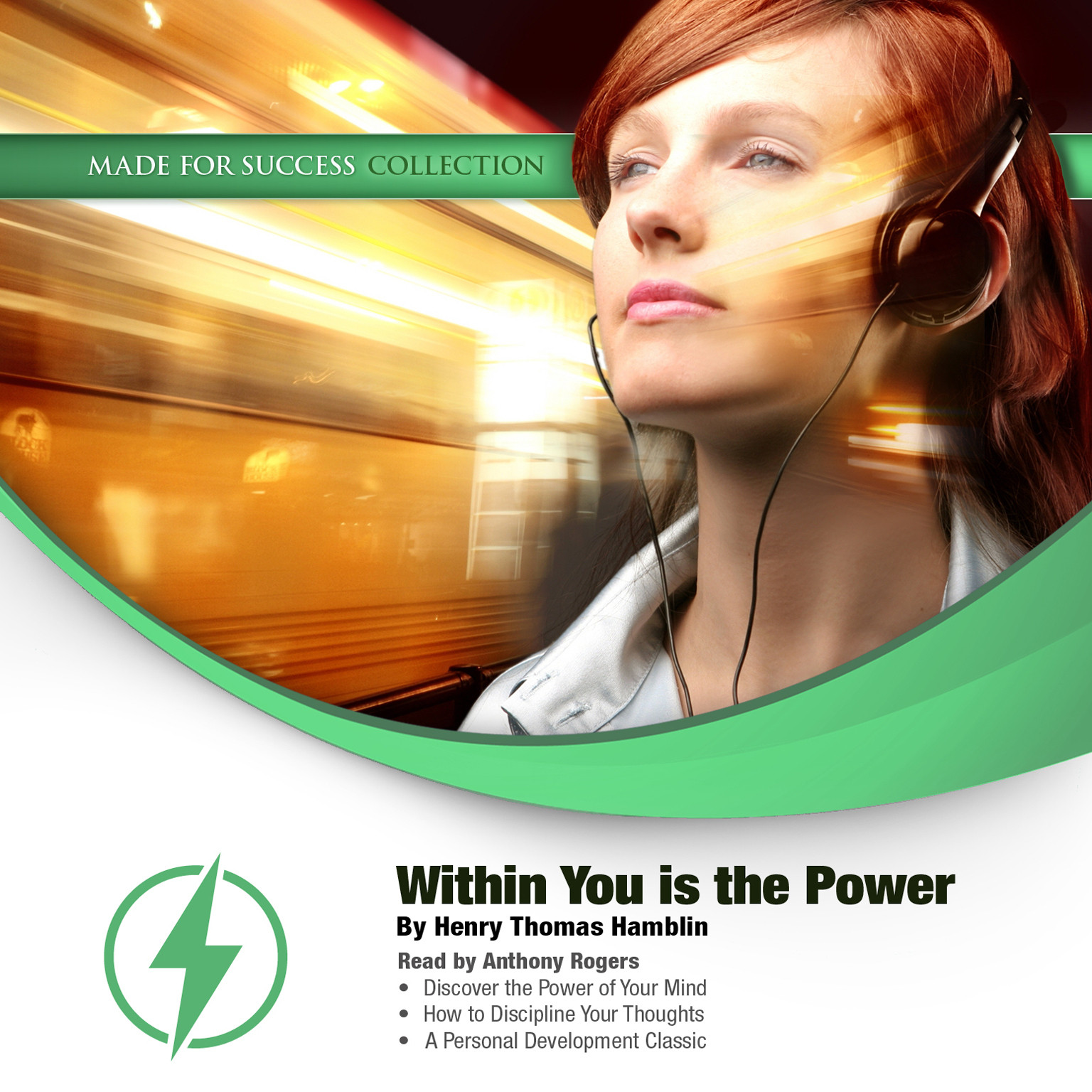 Printable Within You Is the Power Audiobook Cover Art