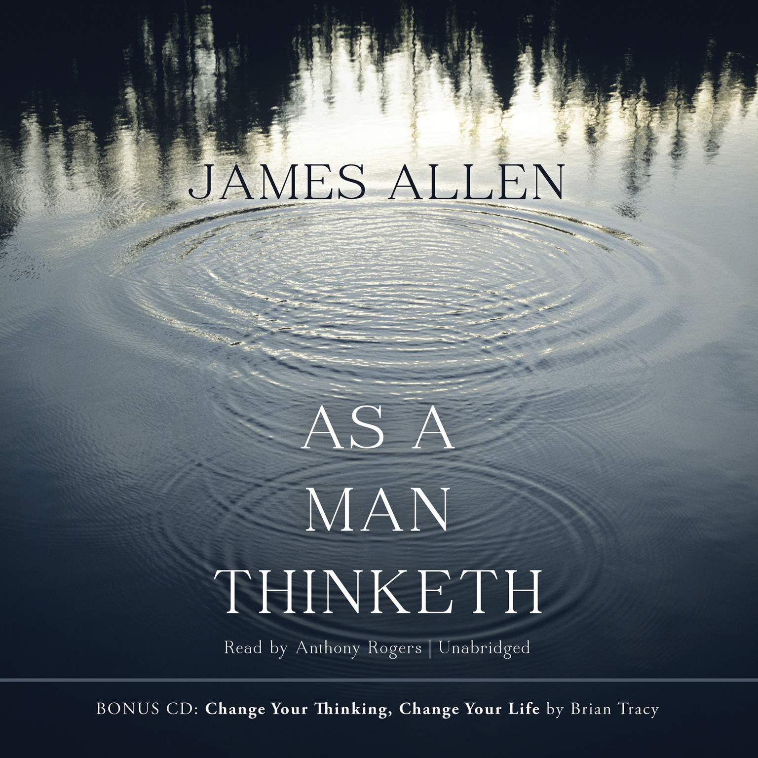 Printable As a Man Thinketh Audiobook Cover Art