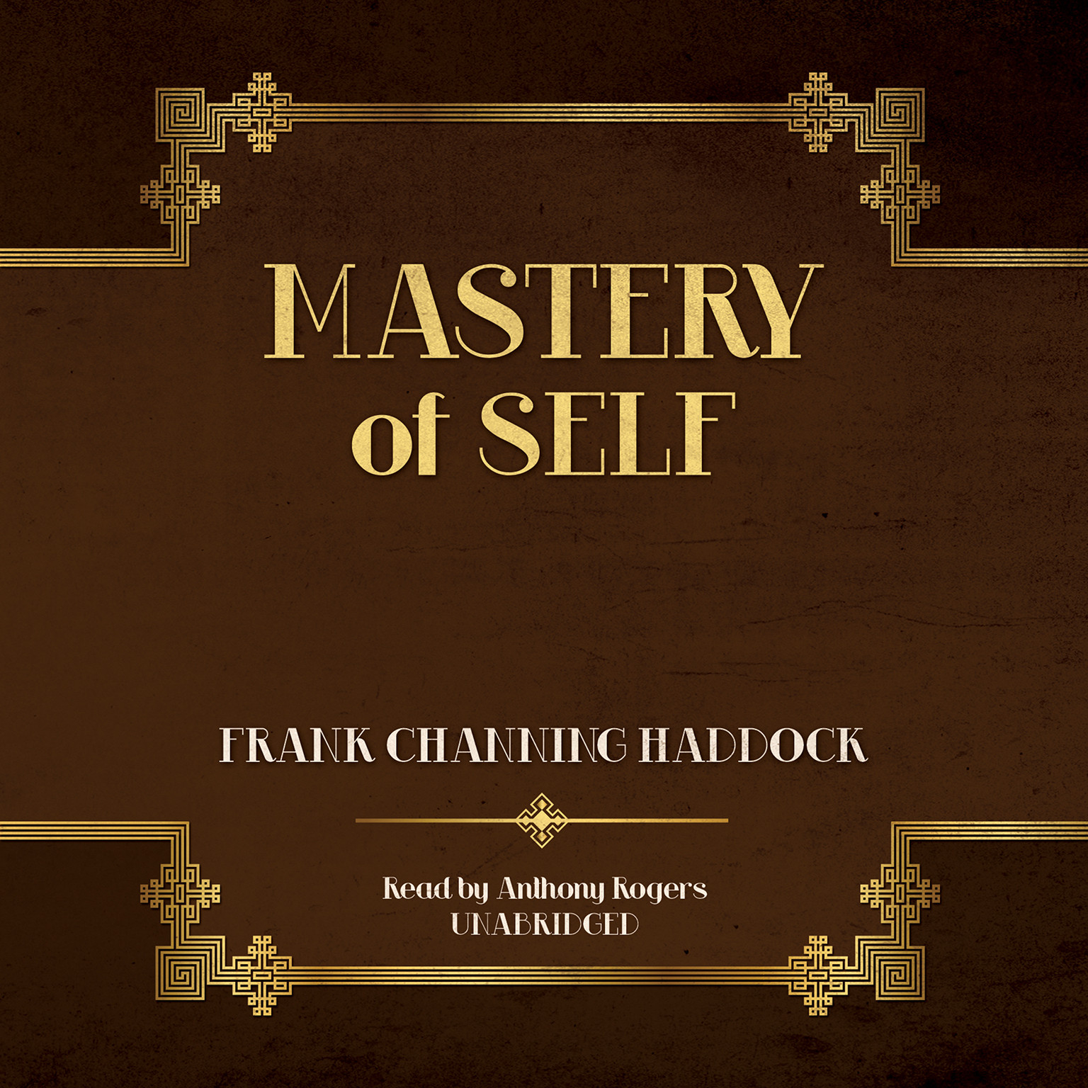 Printable Mastery of Self Audiobook Cover Art
