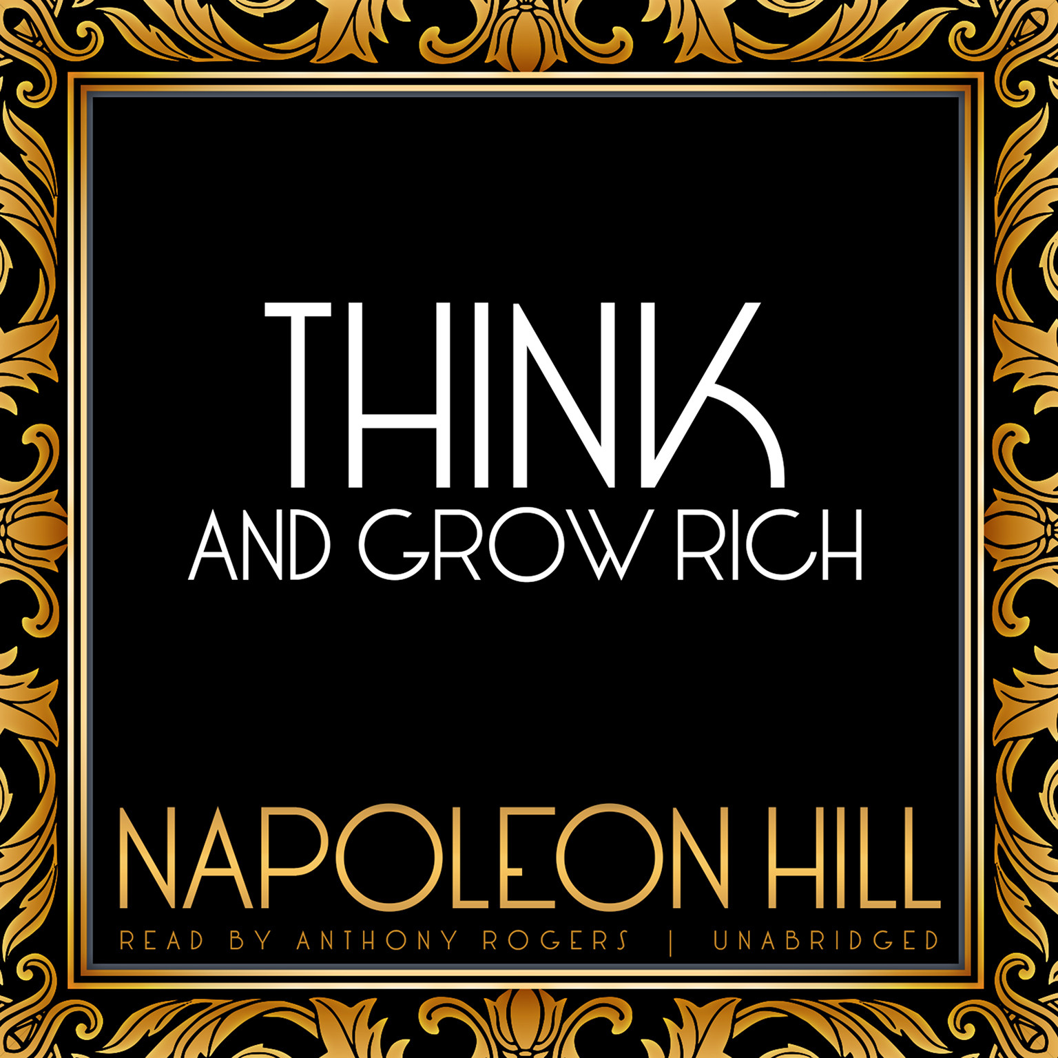Printable Think and Grow Rich Audiobook Cover Art