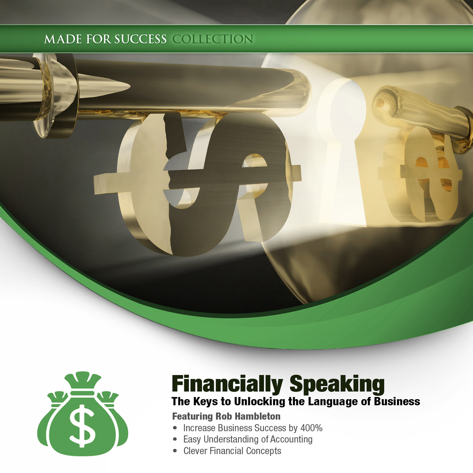 Printable Financially Speaking: The Keys to Unlocking the Language of Business Audiobook Cover Art